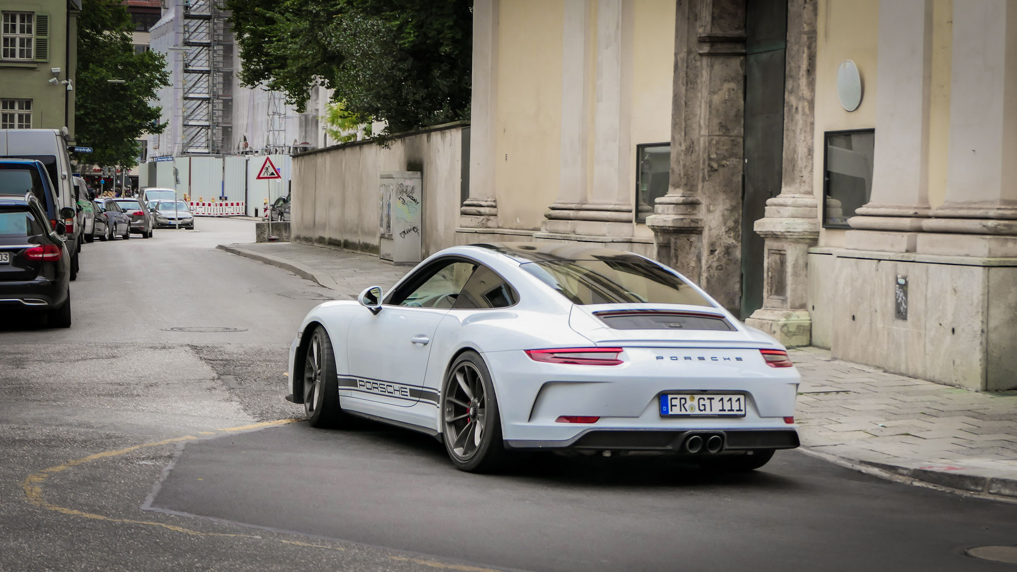 Porsche 991 GT3 Touring Package - FR-GT-111