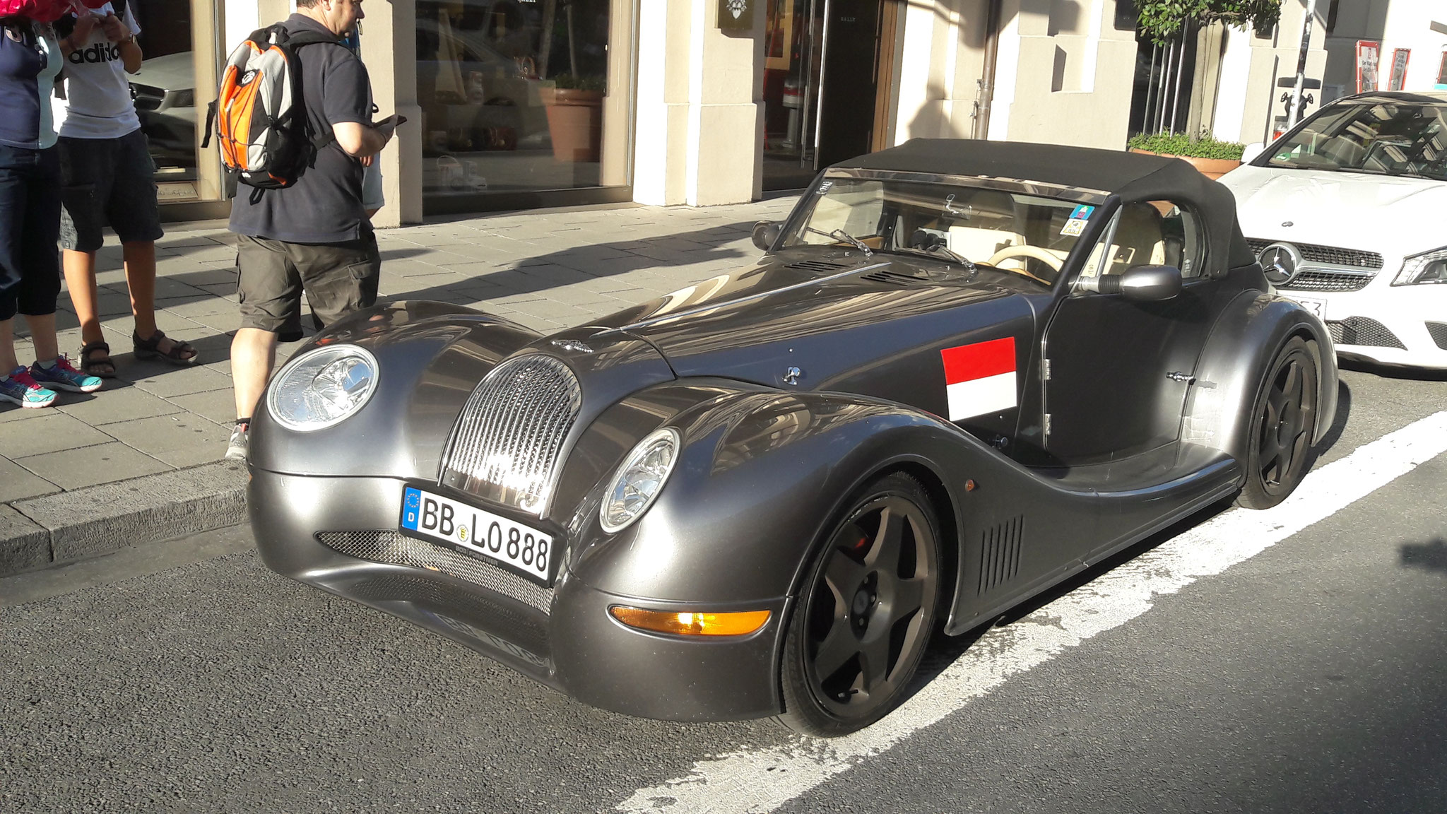 Morgan Aero Roadster - BB-LO-888