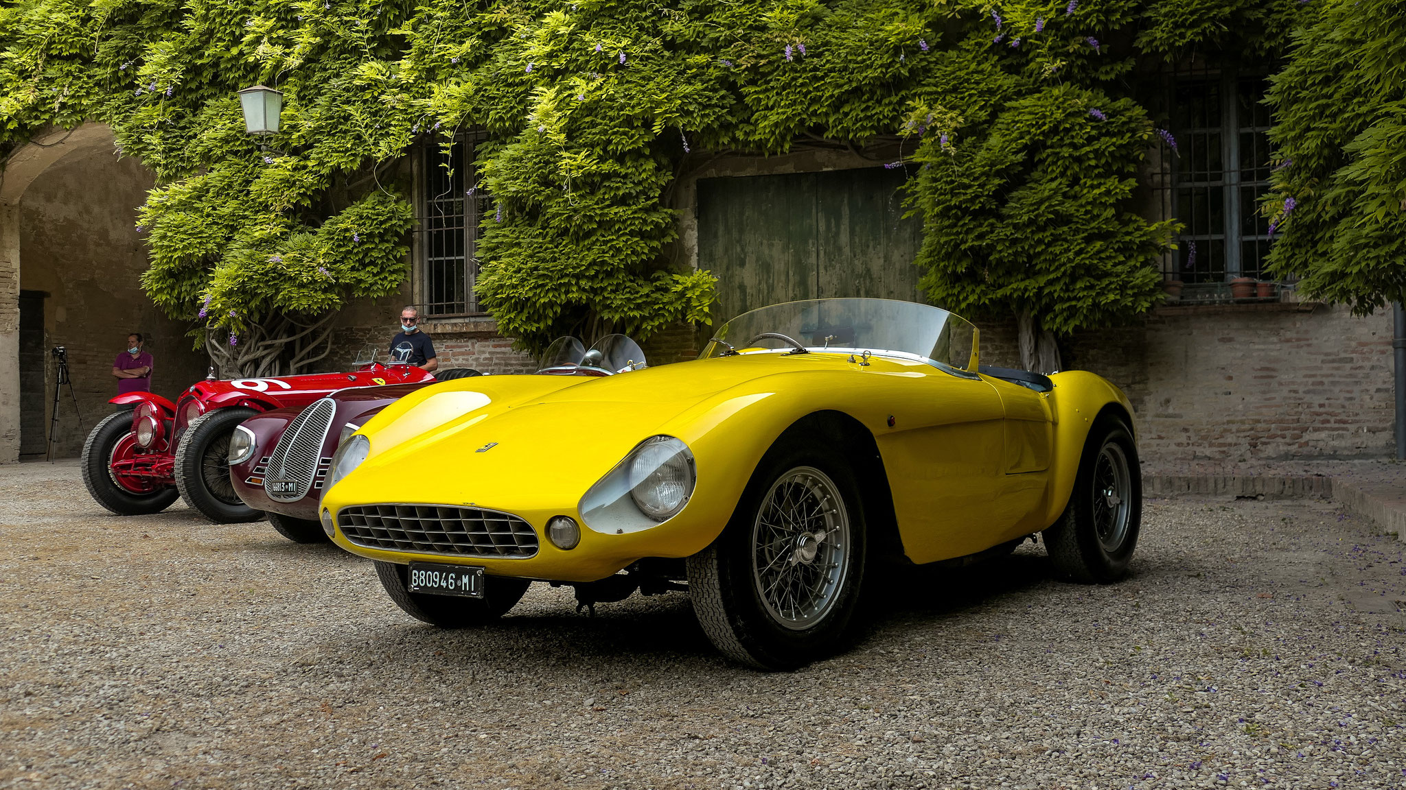 Ferrari 500 Mondial PF Spyder - 880946-MI (ITA)