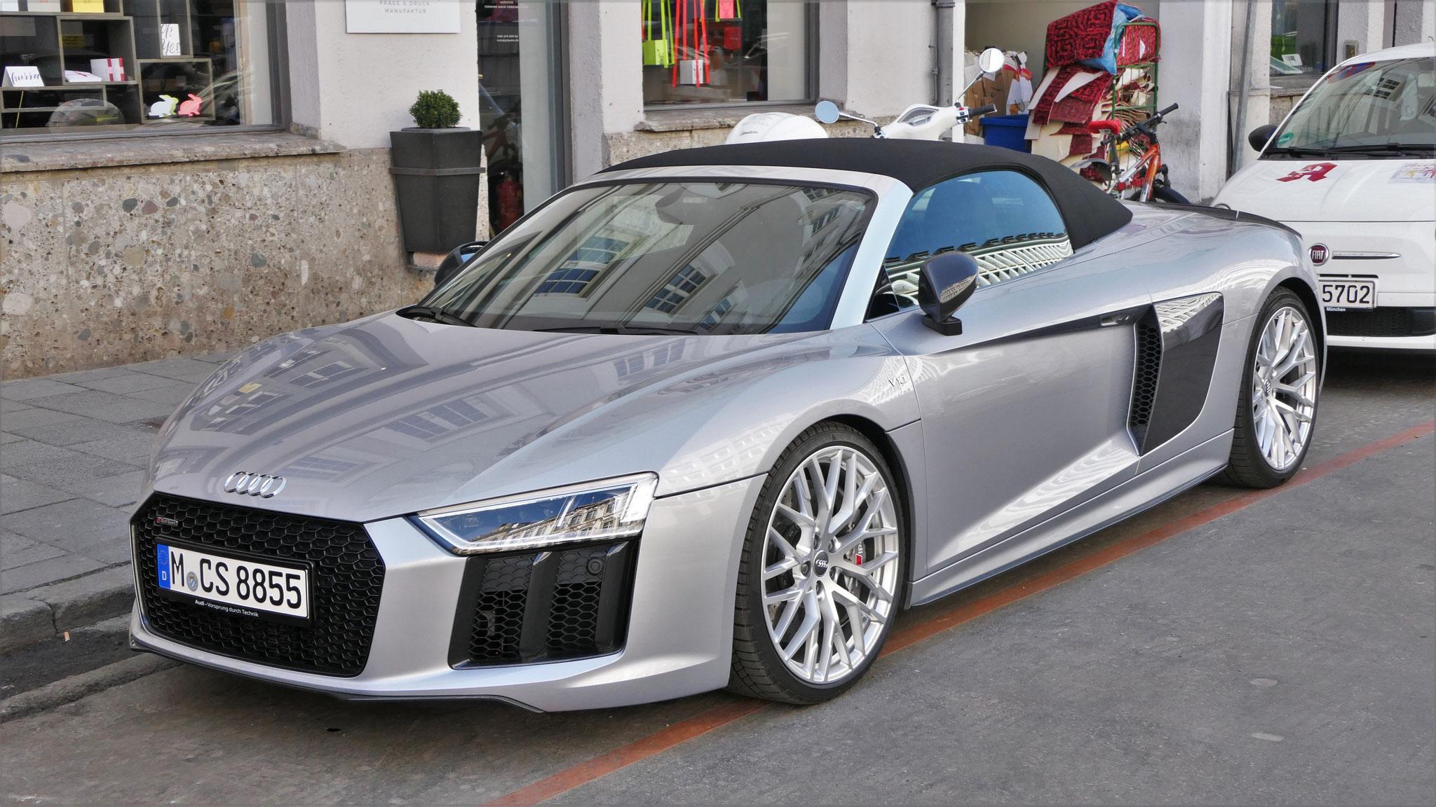 Audi R8 V10 Spyder - M-CS-8855