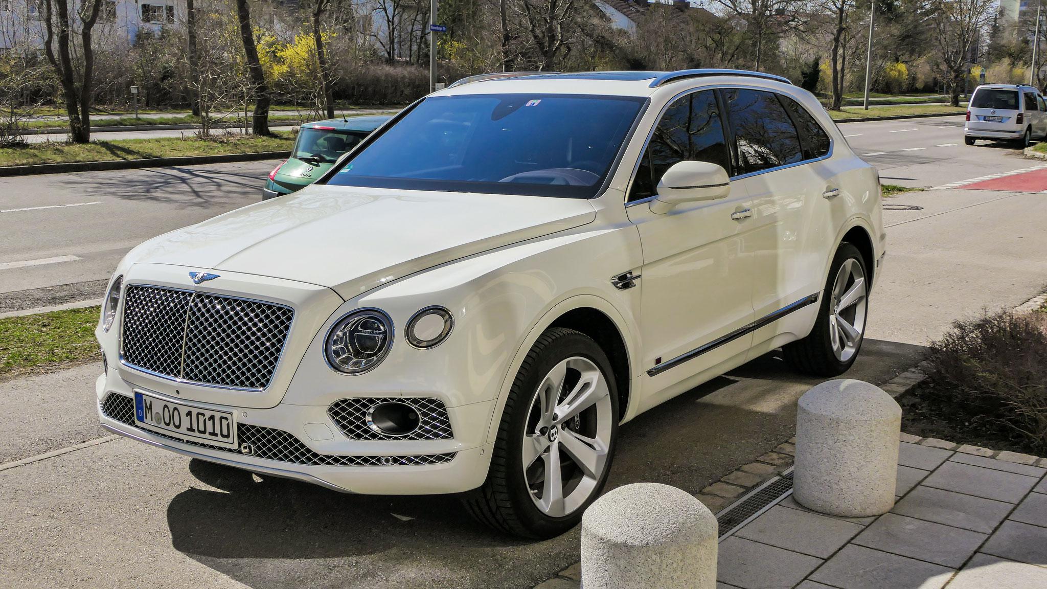 Bentley Bentayga - M-OO-1010