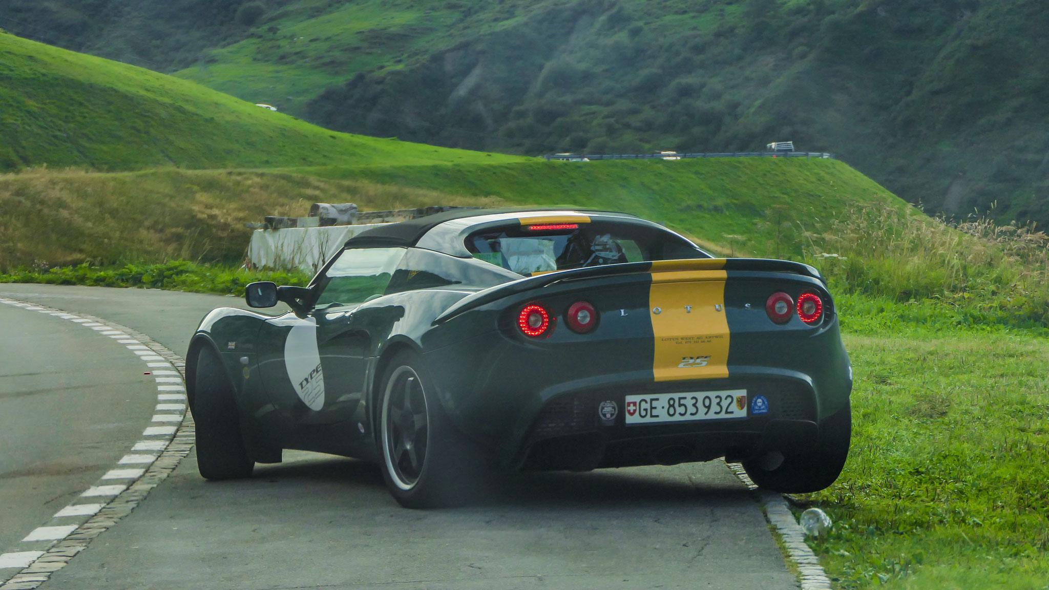 Lotus Elise S2 Type 25 - GE-853932 (CH)
