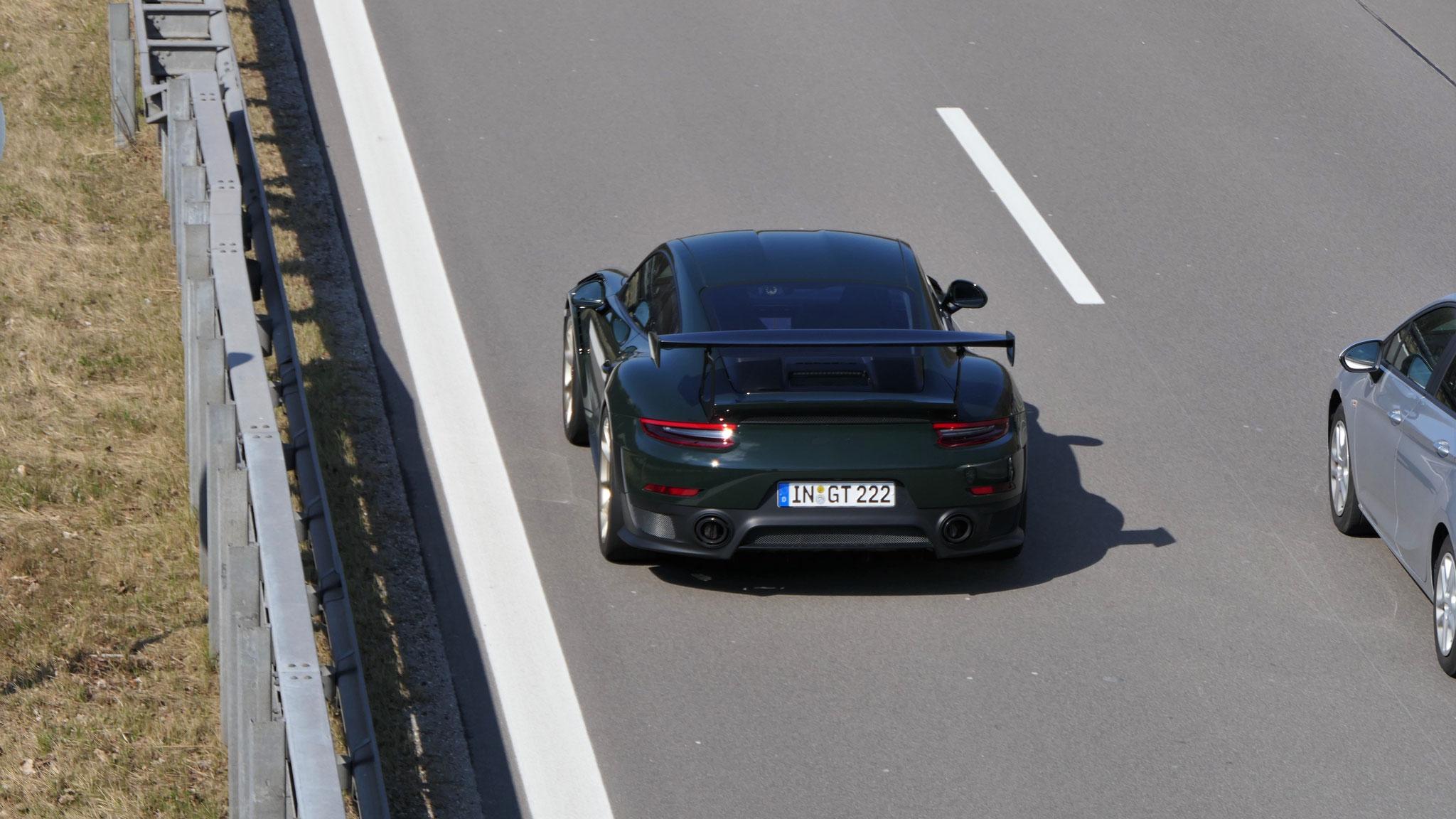 Porsche GT2 RS Weissach - IN-GT-222