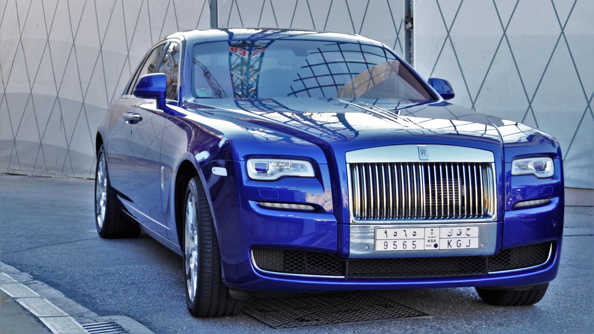 Rolls Royce Ghost Series II - 9565-KGJ (KSA)
