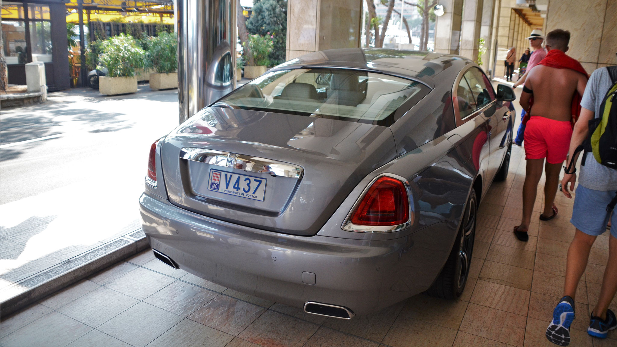 Rolls Royce Wraith - V437 (MC)