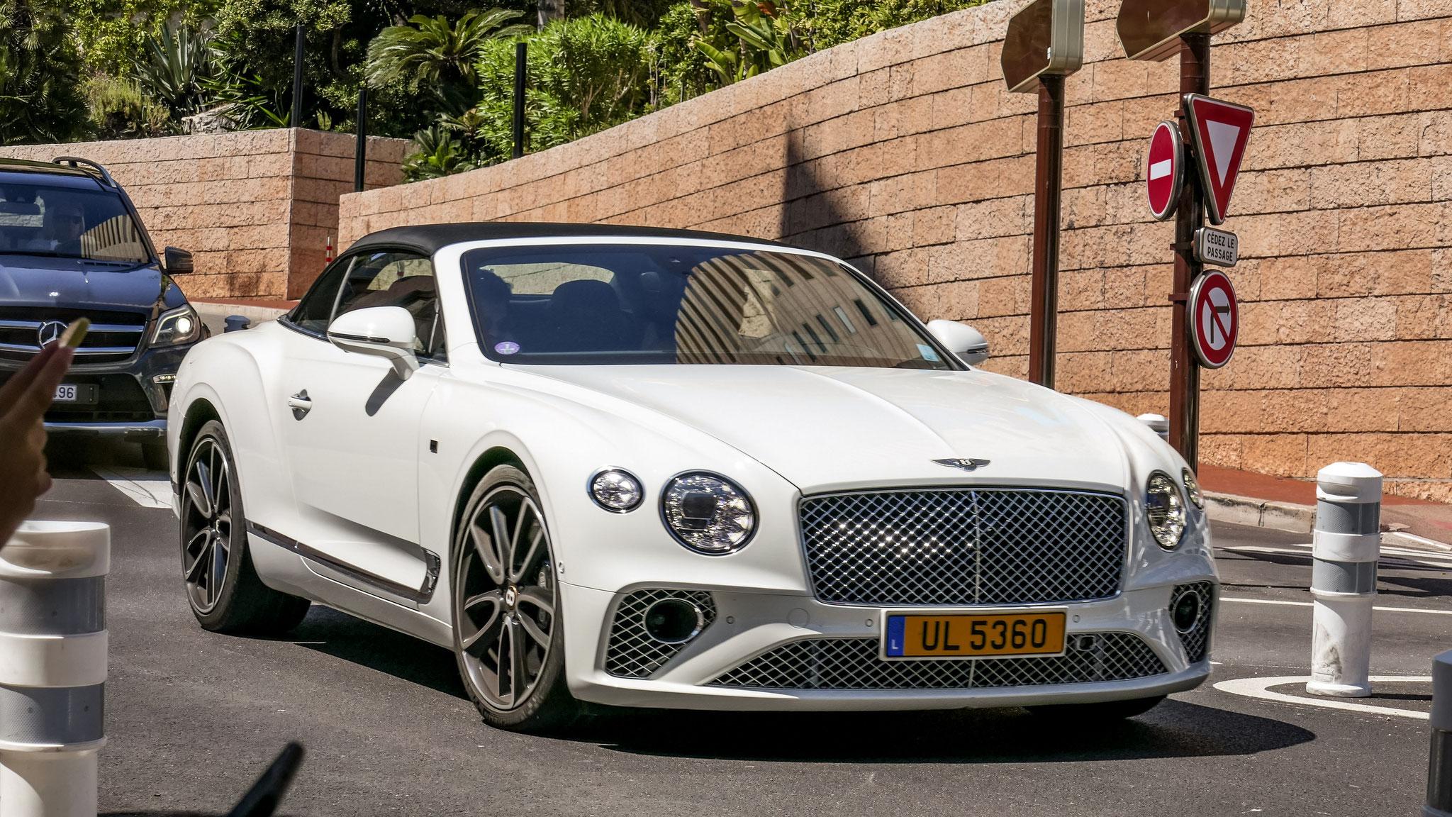 Bentley Continental GTC - UL-5360 (LUX)