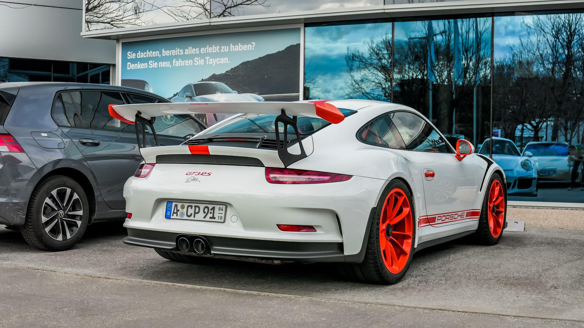 Porsche 911 GT3 RS - A-CP-91
