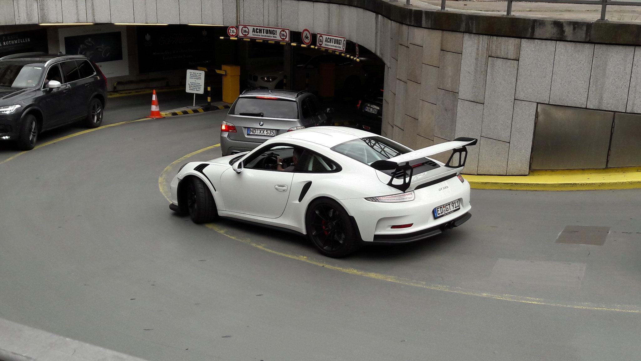 Porsche 911 GT3 RS - ED-GT-911