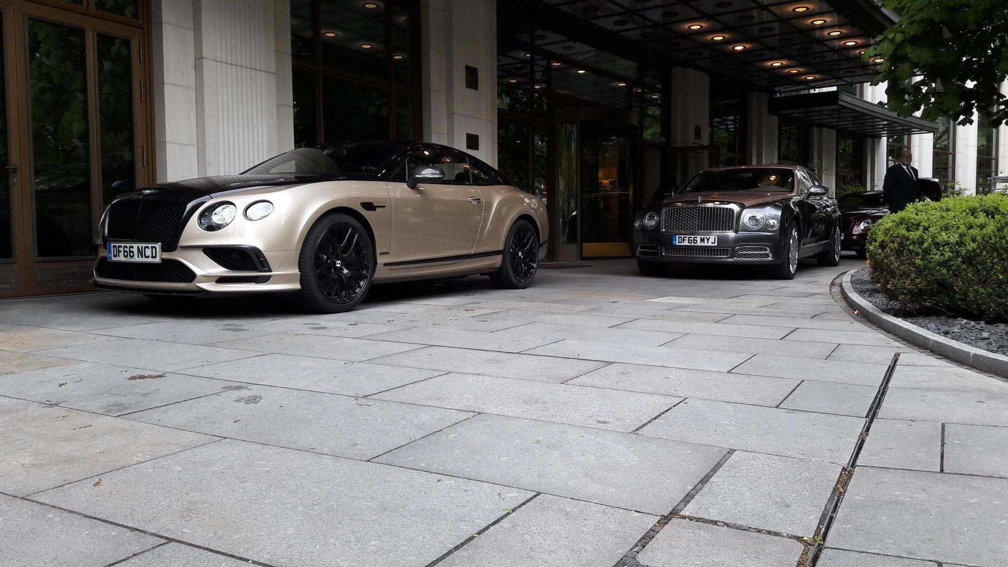 Bentley Continental GT Supersport - DF66-NCD
