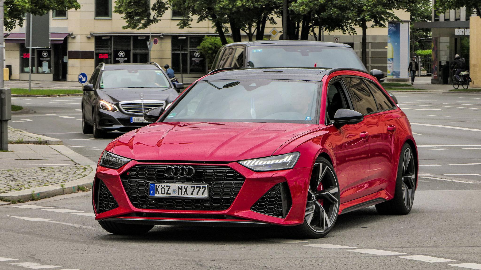 Audi RS6 - KÖZ-MX-777