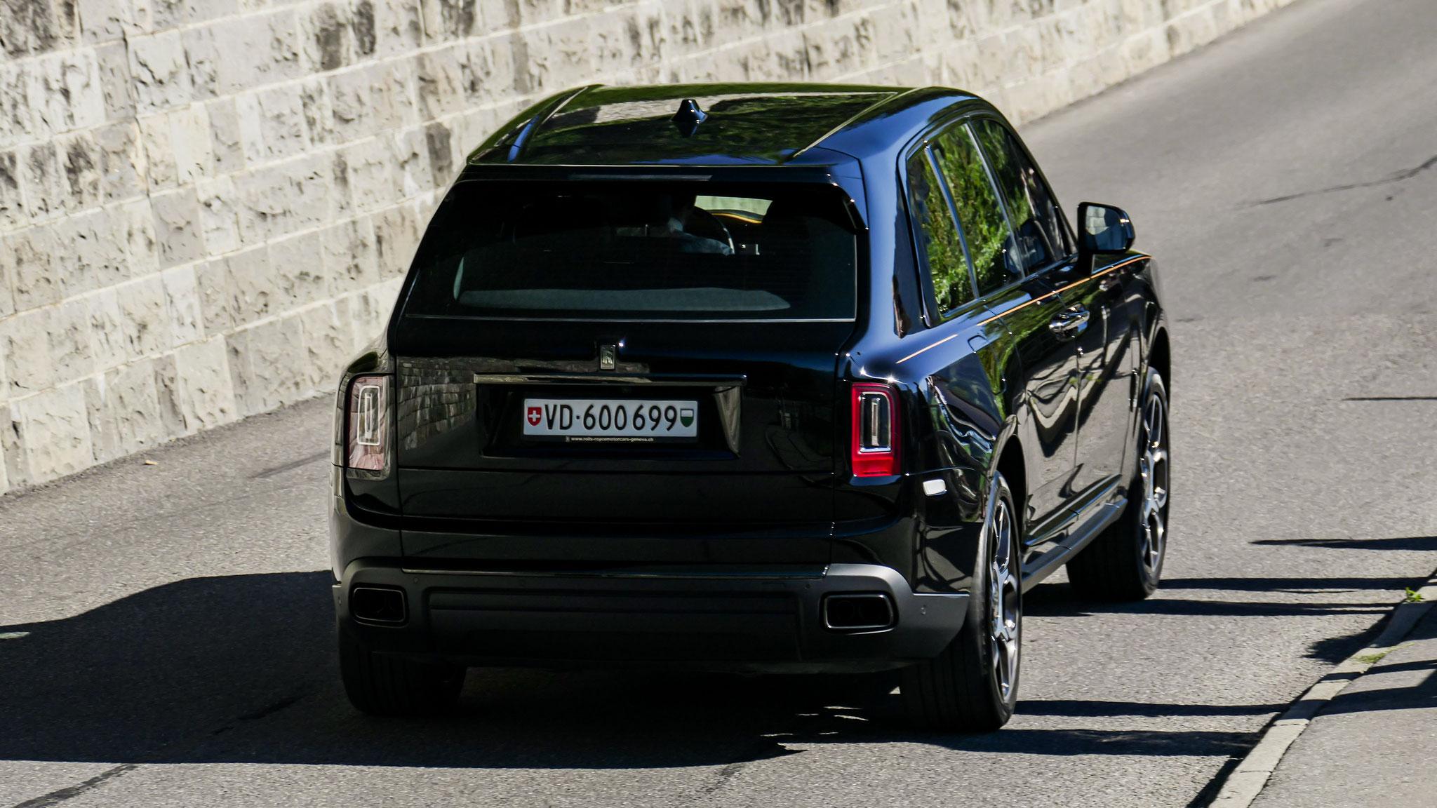 Rolls Royce Cullinan Black Badge - VW-600699 (CH)