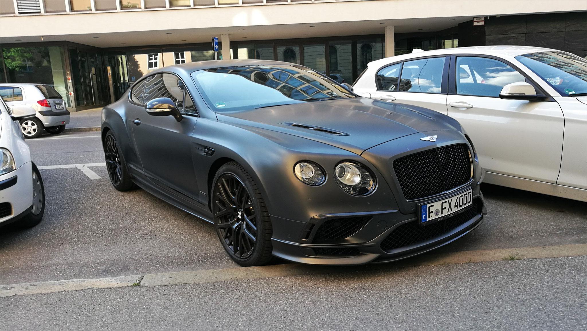 Bentley Continental GT Supersports - F-FX-4000