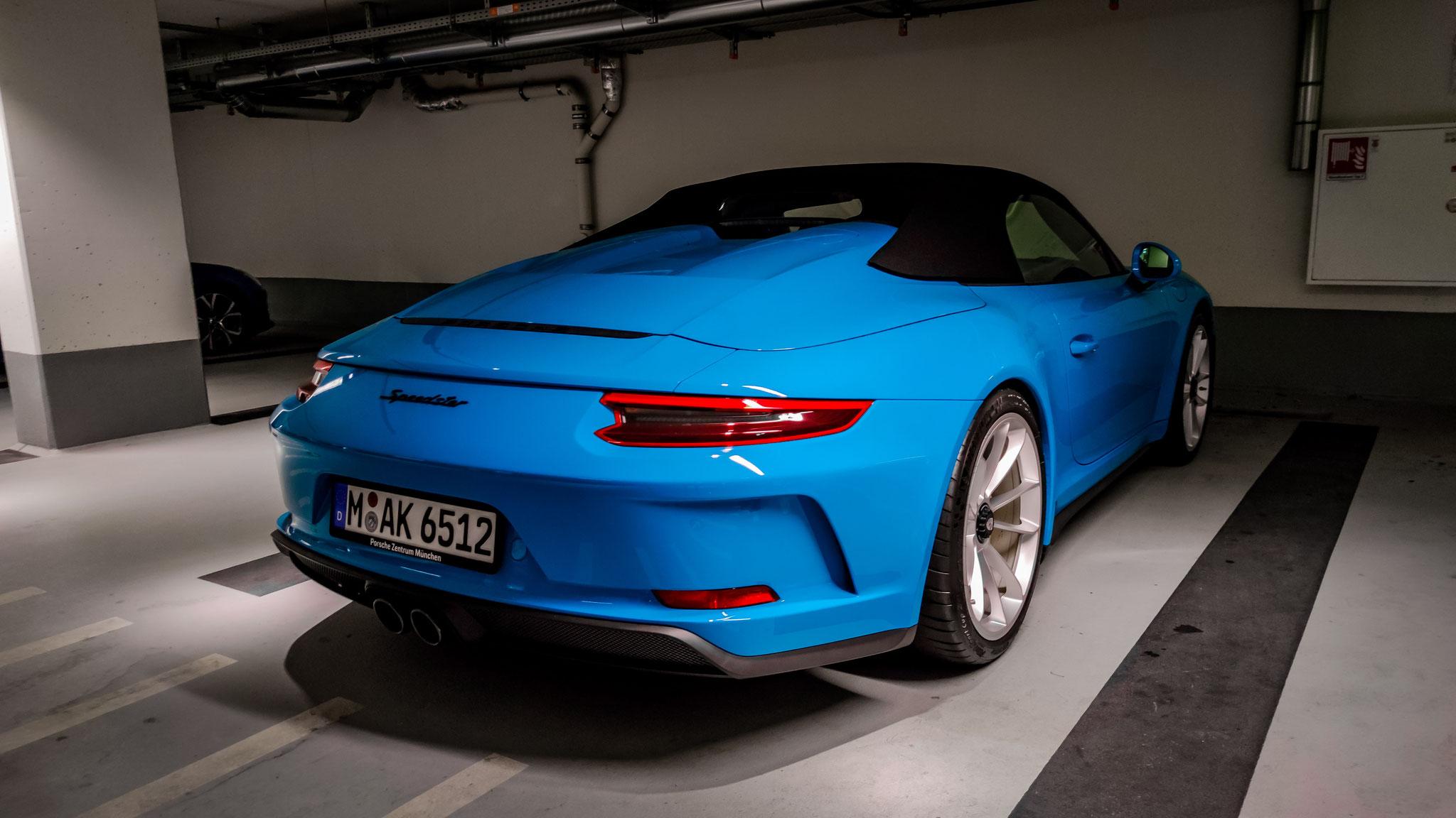 Porsche 991 Speedster - M-AK-6512