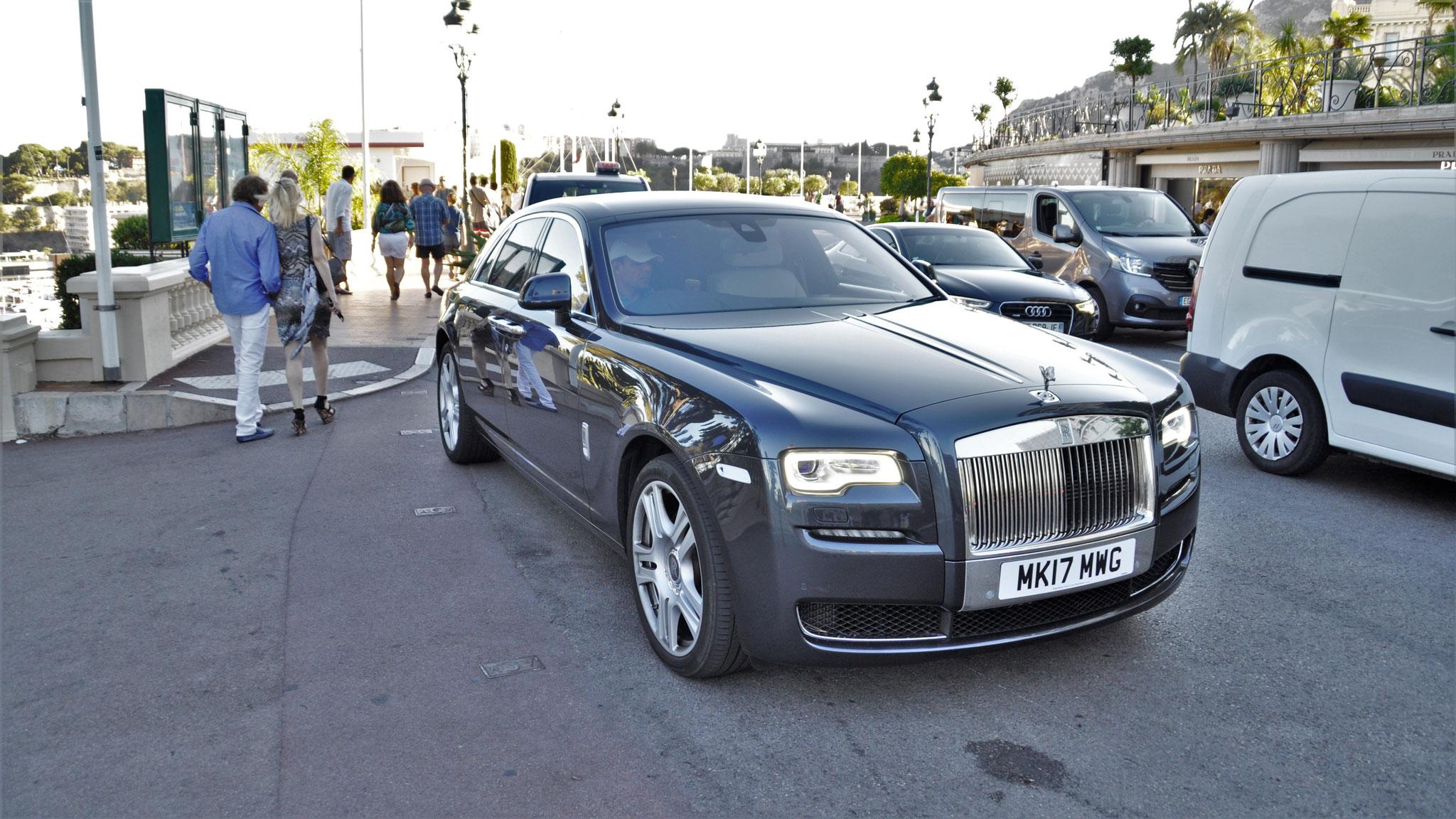 Rolls Royce Ghost Series II - MK17-MWG (GB)