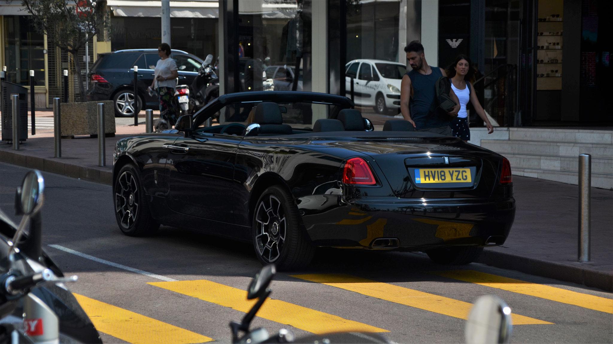 Rolls Royce Dawn Black Badge - HV18-YZG (GB)