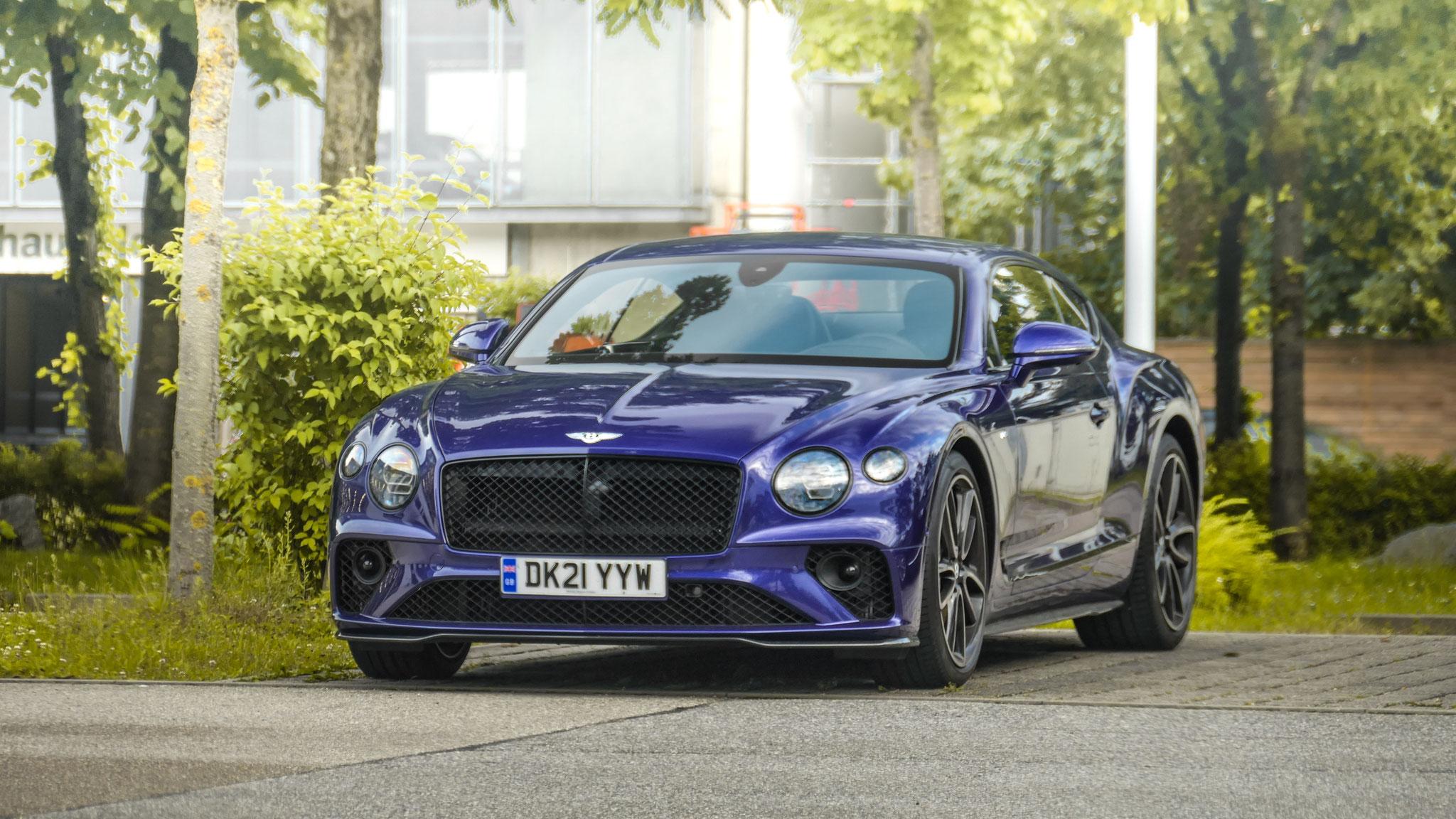 Bentley Continental GT - DK21-YYW (GB)