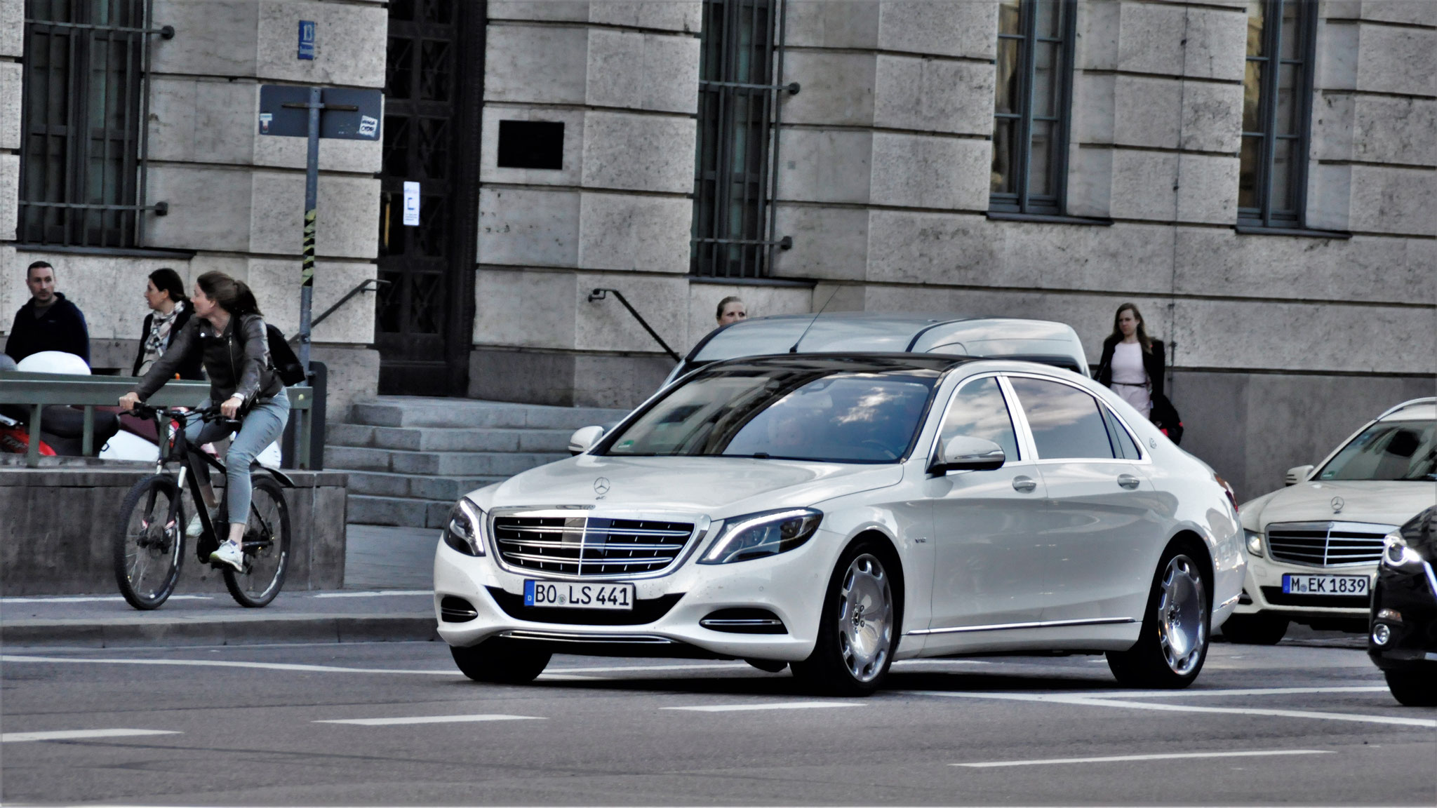 Mercedes Maybach S600 - BO-LS-441