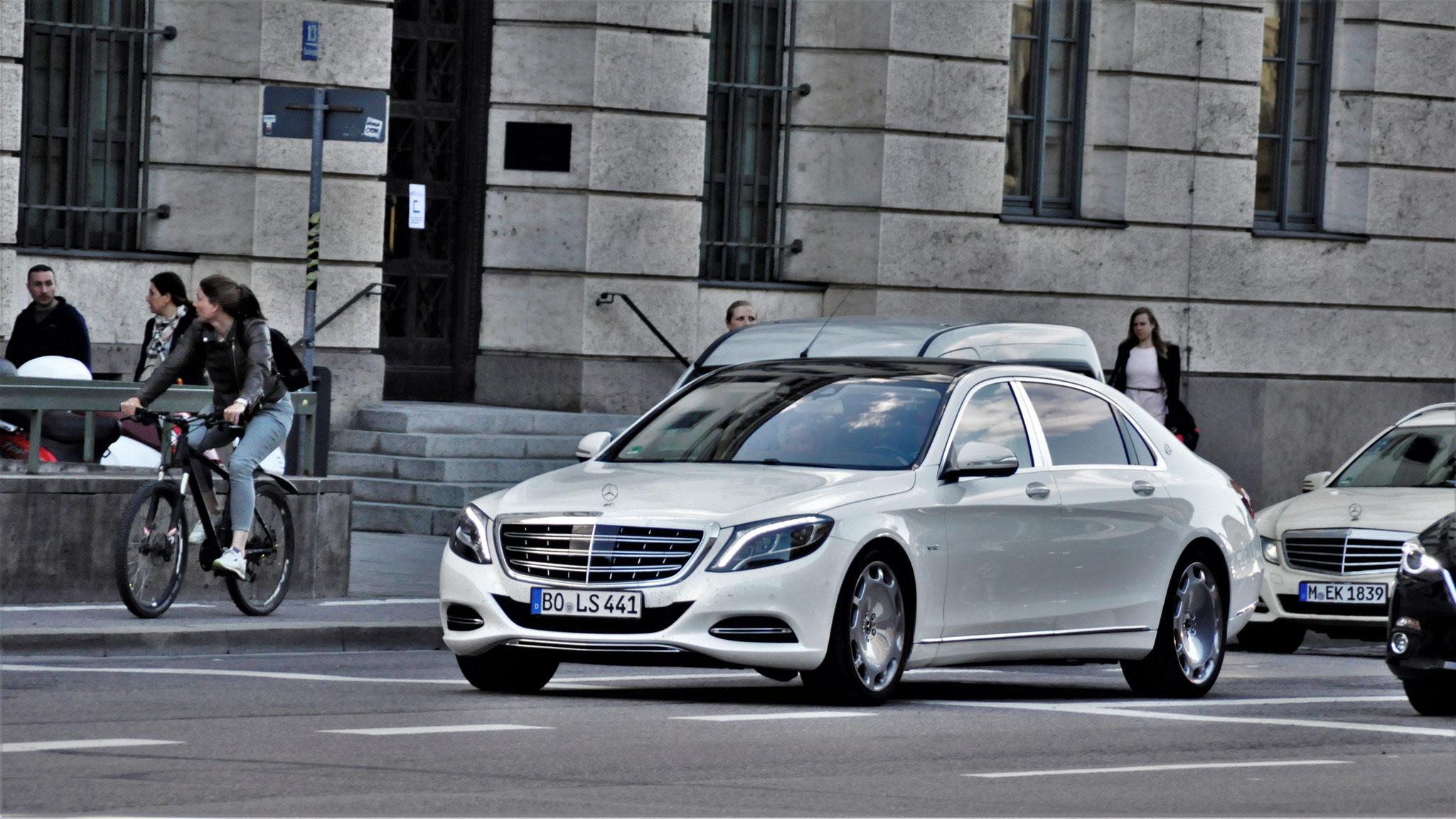 Mercedes Maybach S600 - BO-LS-441