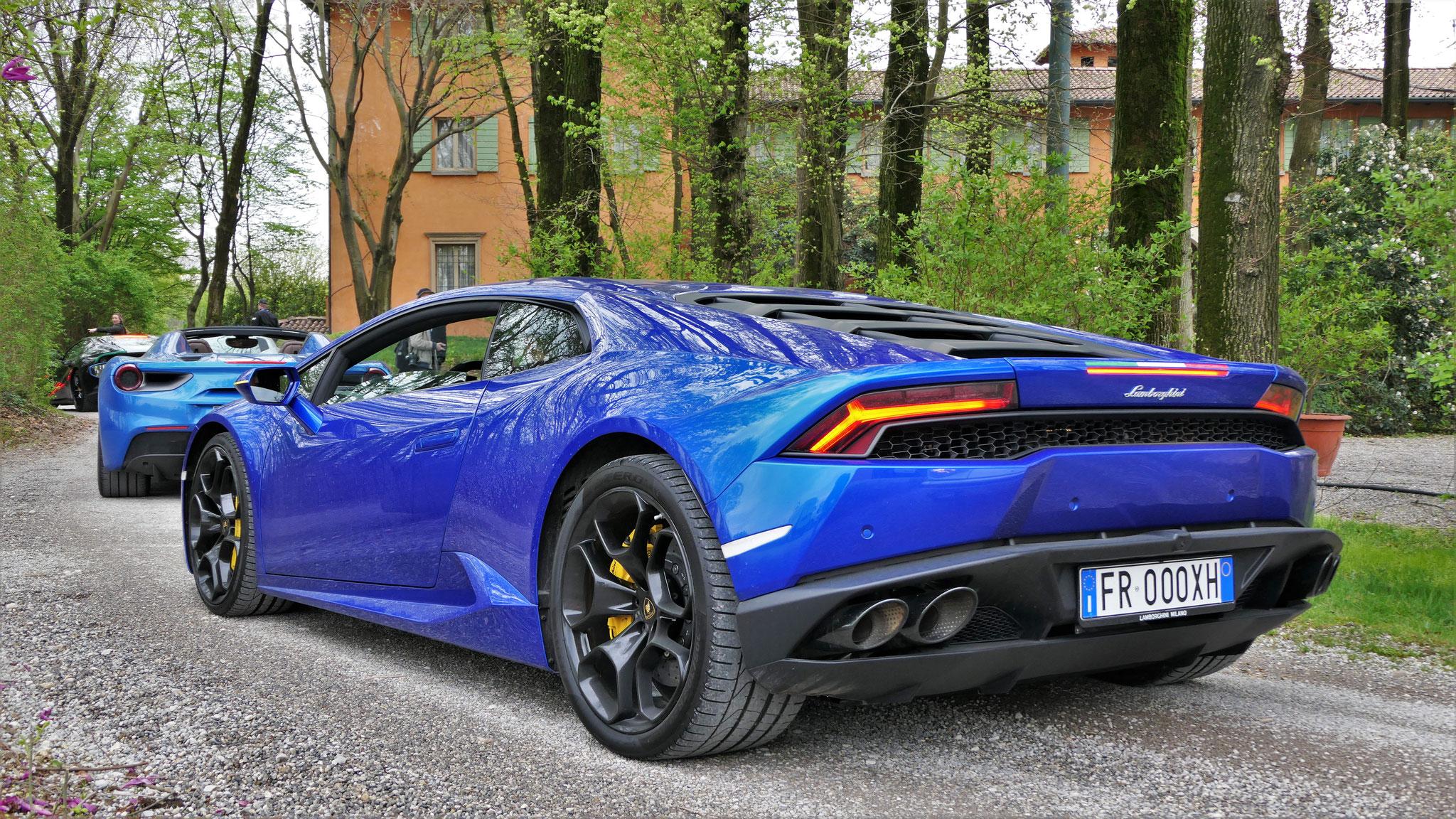 Lamborghini Huracan - FR-000-XH (ITA)