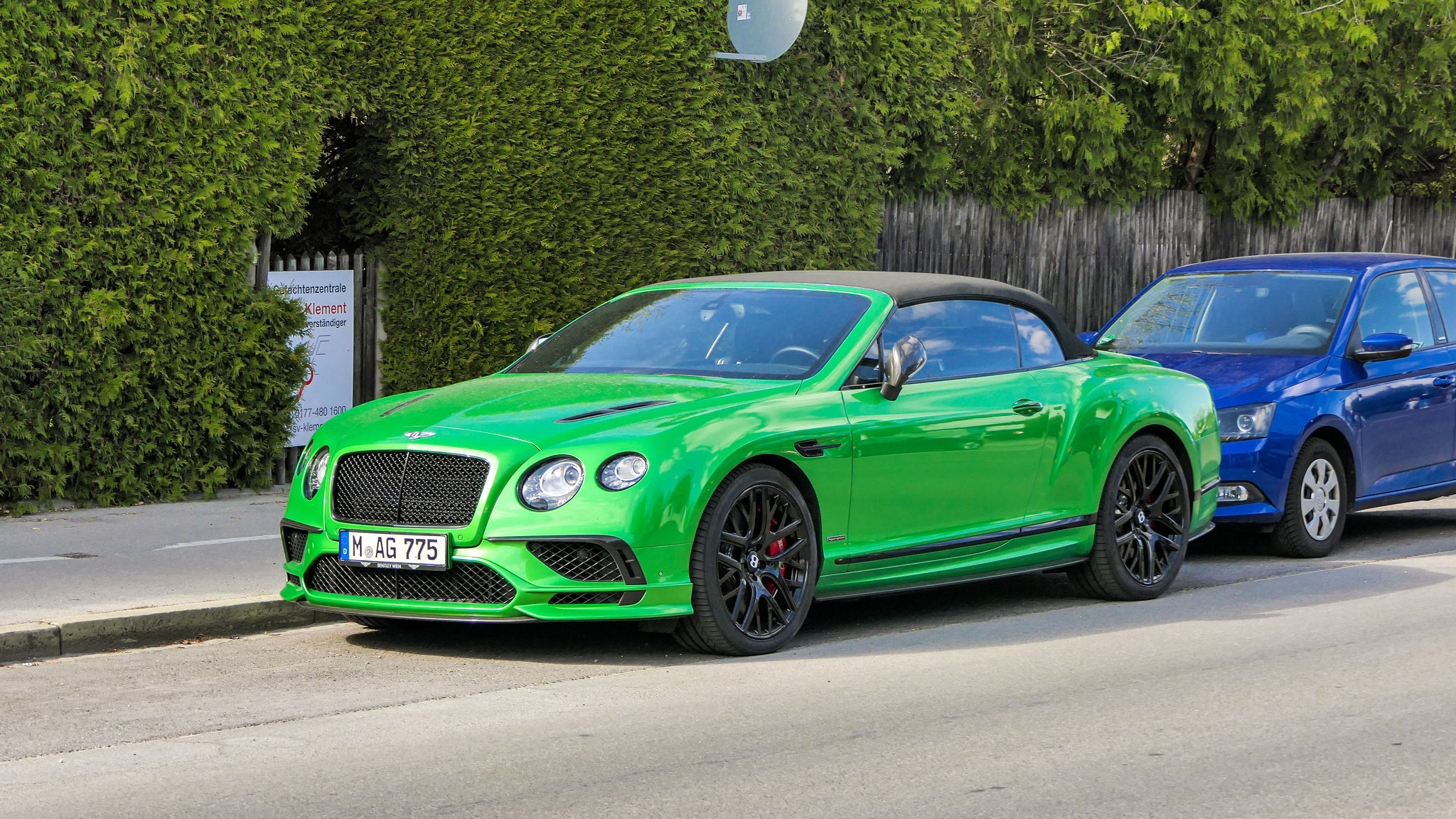 Bentley Continental GTC Supersports - M-AG-775