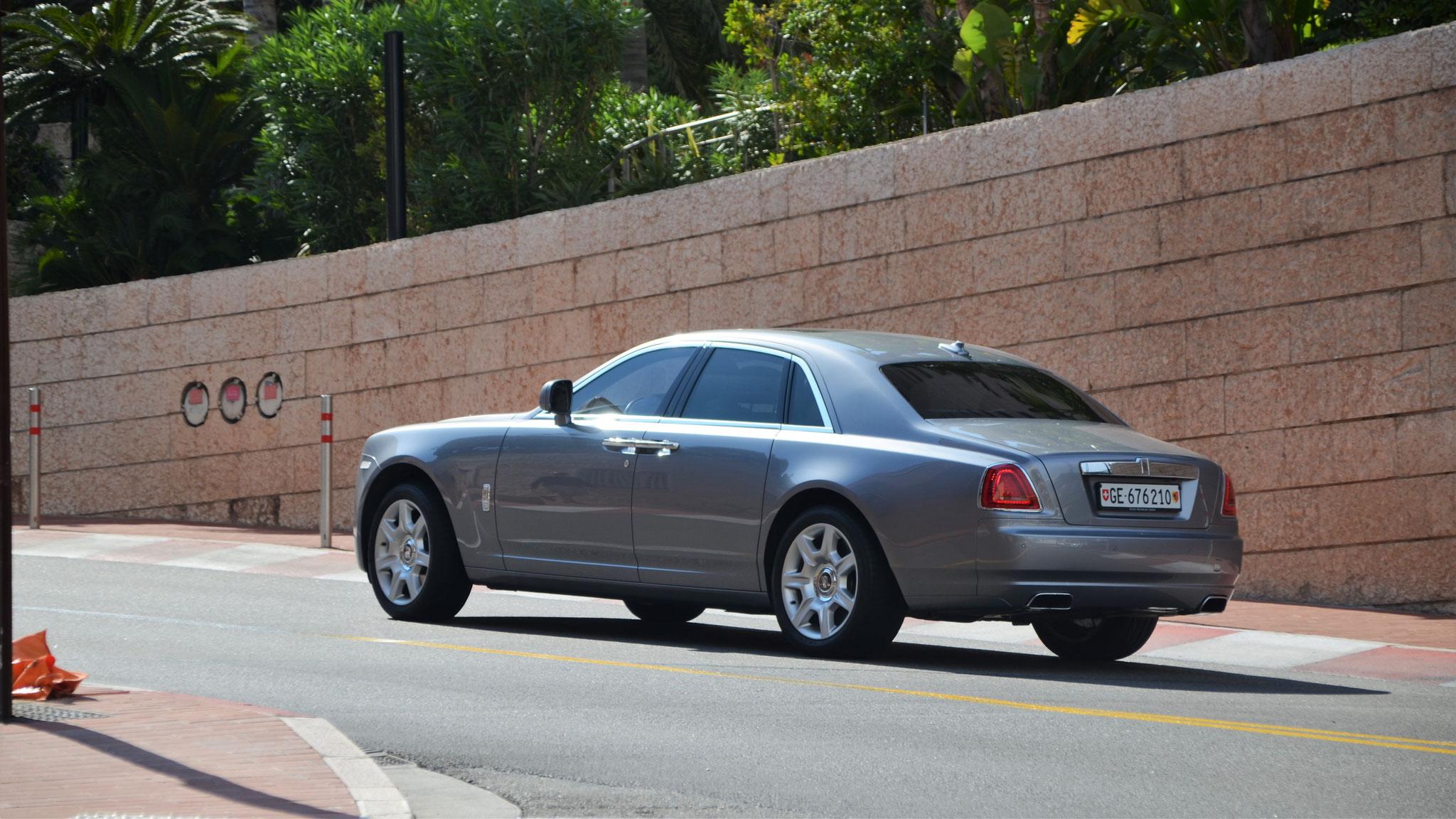 Rolls Royce Ghost Series II - GE-676210 (CH)