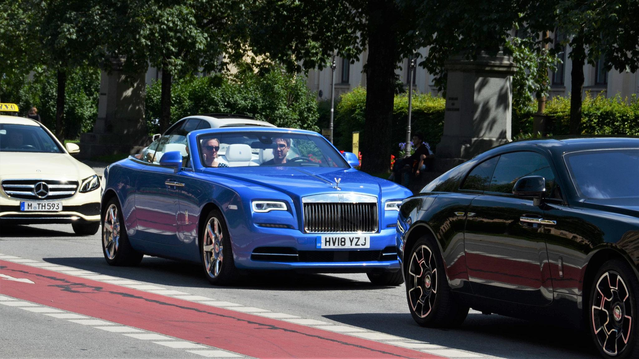 Rolls Royce Dawn - HV18-YZJ (GB)