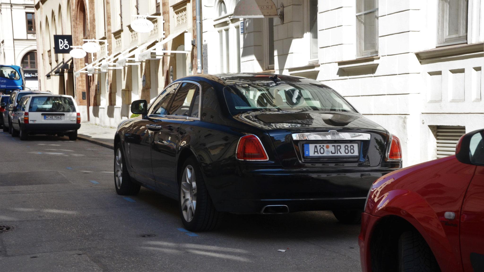 Rolls Royce Ghost - AÖ-JR-88