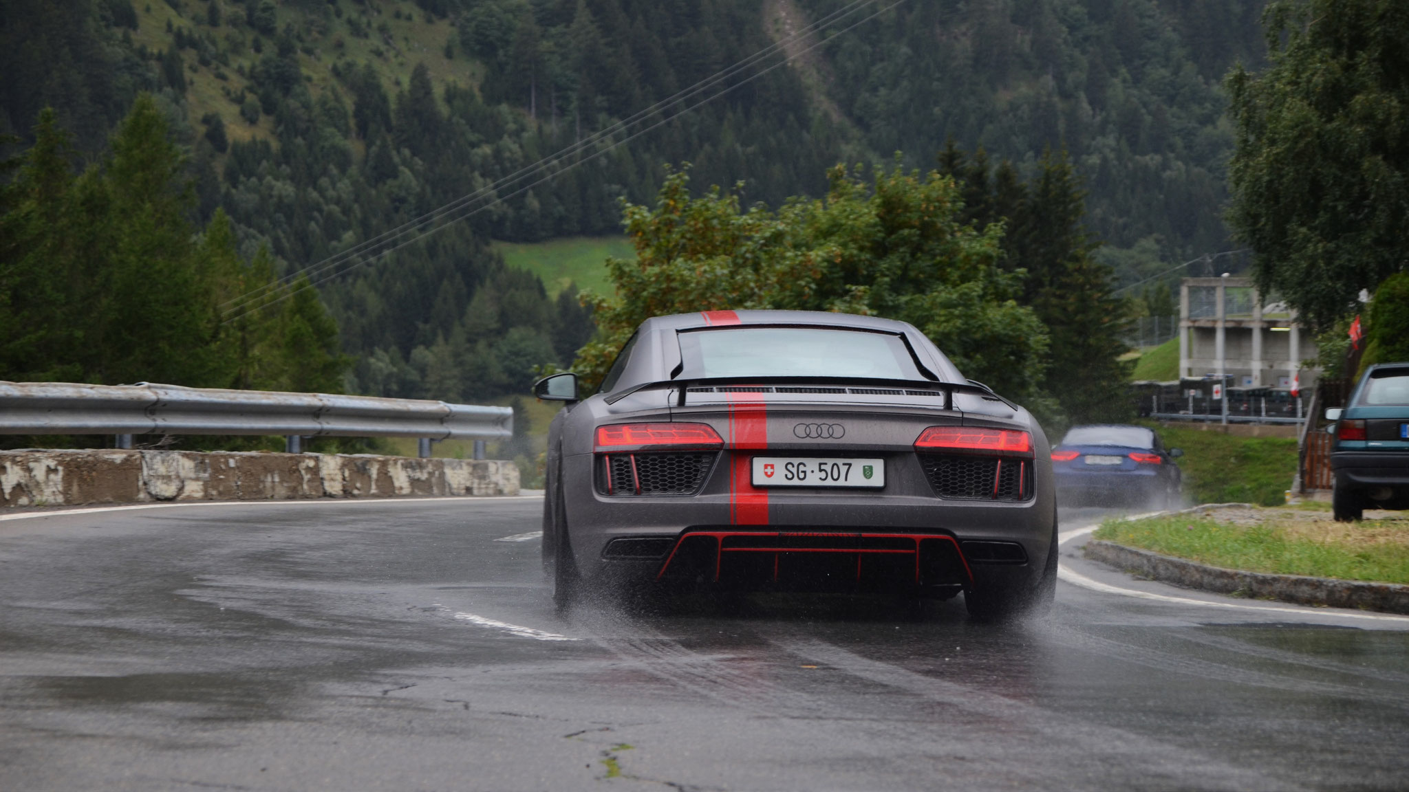 Audi R8 V10 RWD - SG-507 (CH)