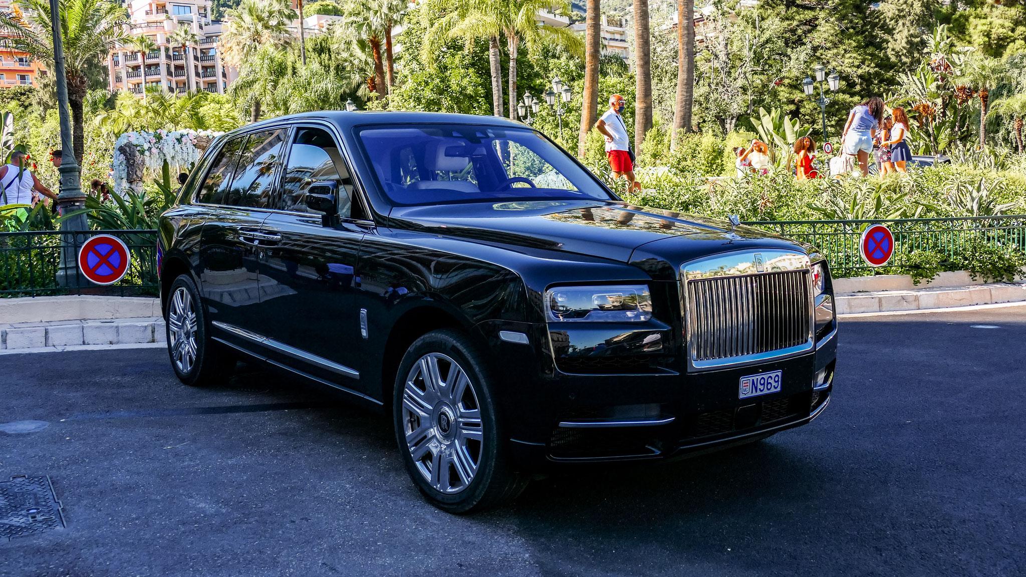 Rolls Royce Cullinan - N969 (MC)