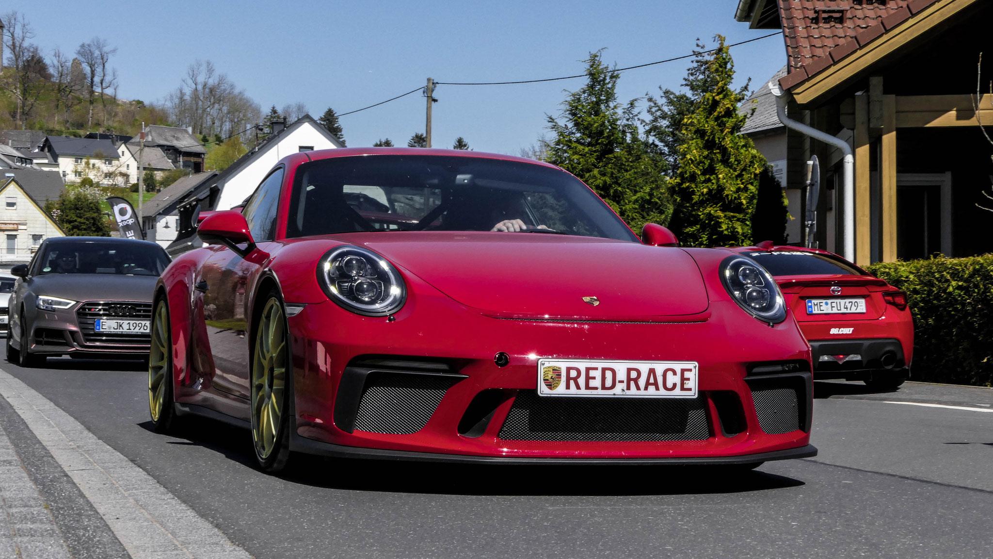 Porsche 991 GT3 - RED-RACE (BEL)
