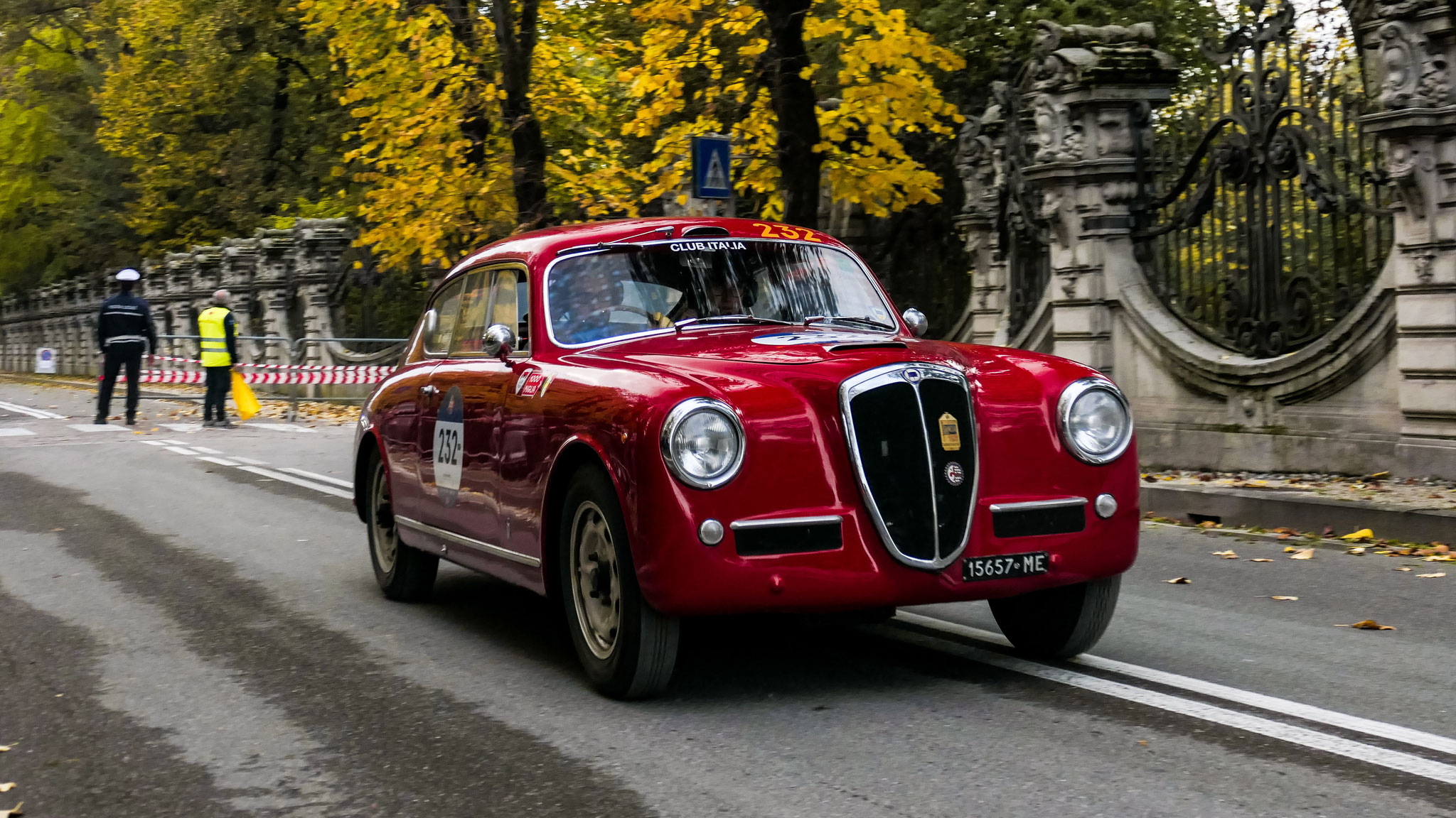 Lancia Aurelia B20 GT 2500 - 15657-ME (ITA)