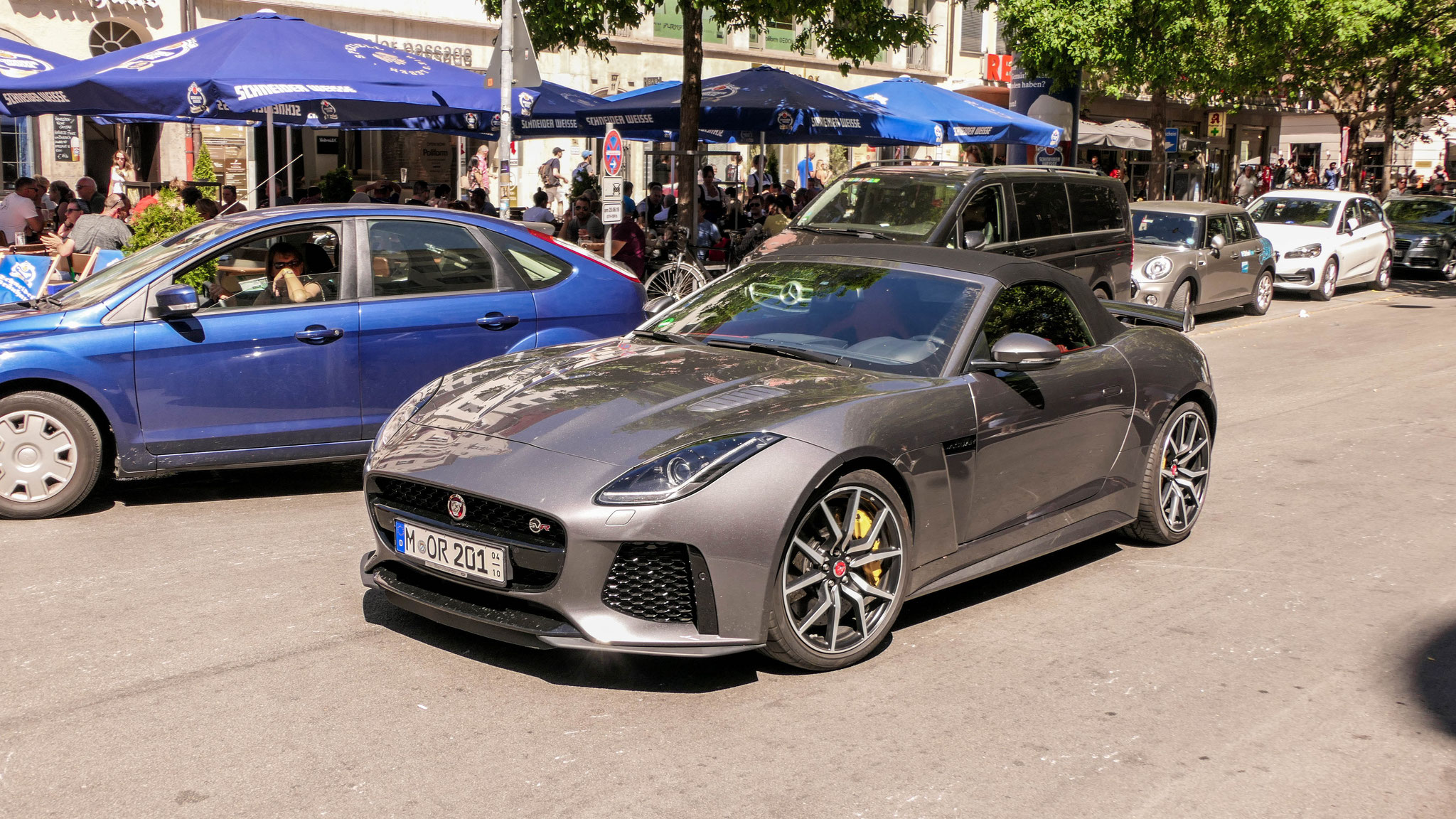 Jaguar F-Type SVR Cabrio - M-OR-201