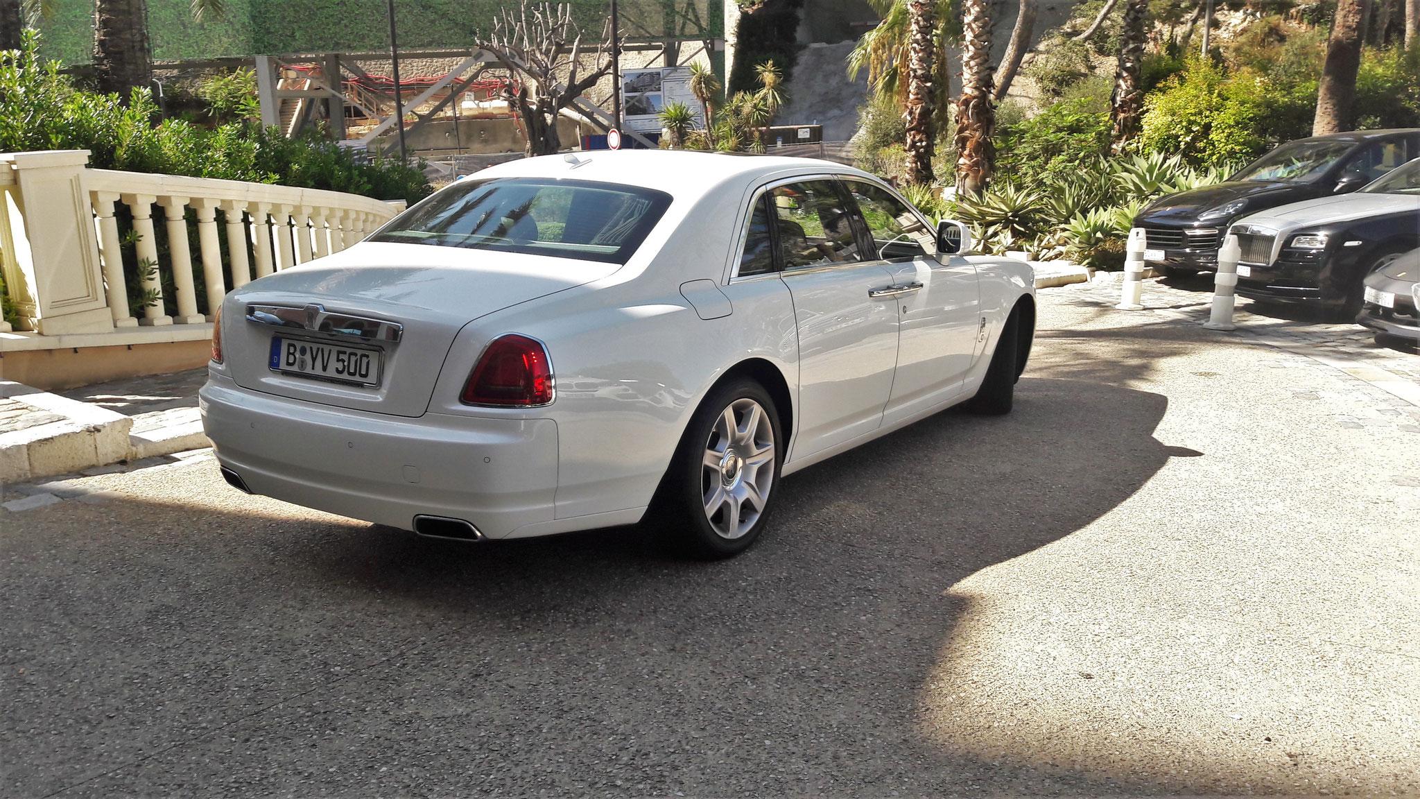 Rolls Royce Ghost Series II - B-YV-500