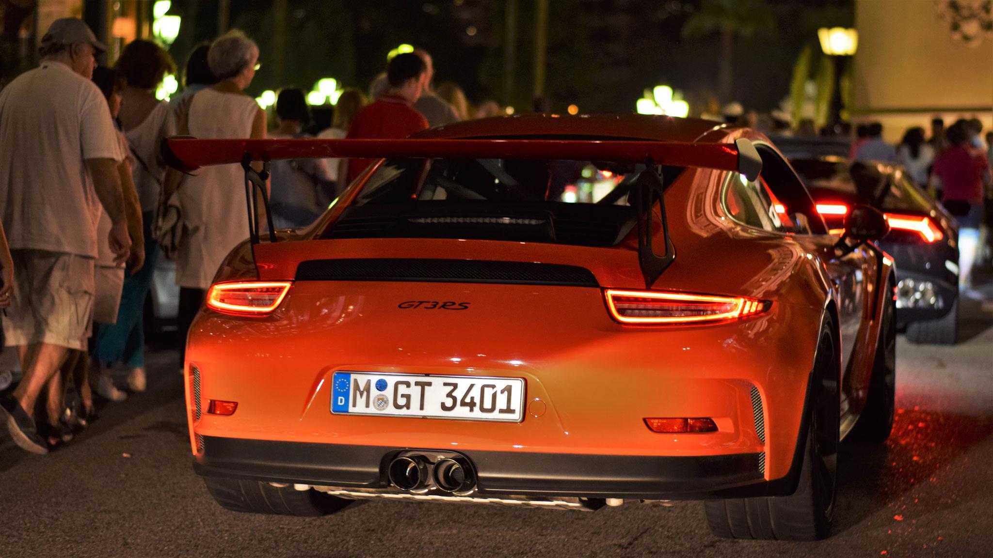 Porsche 911 GT3 RS - M-GT-3401