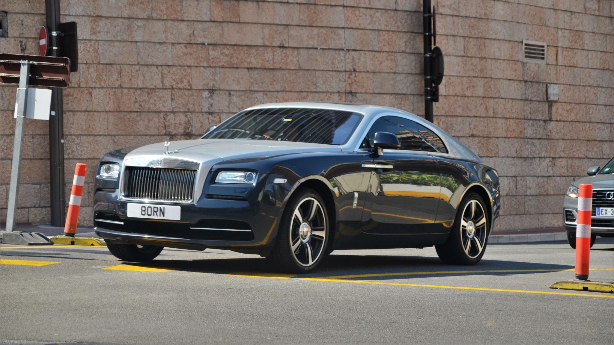 Rolls Royce Wraith - 80RN (GB)