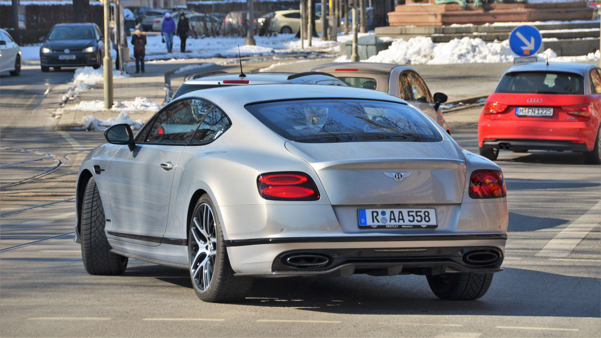 Bentley Continental GT Supersports - R-AA-558