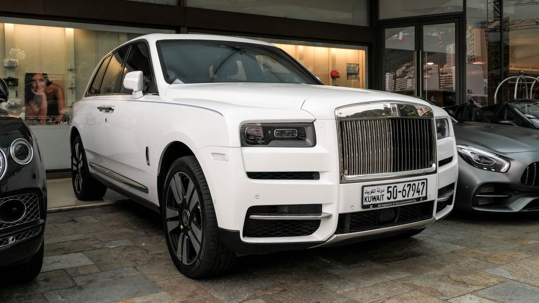 Rolls Royce Cullinan - 50-67947 (KWT)