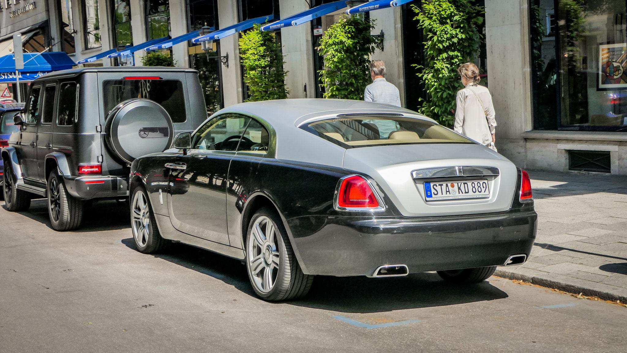 Rolls Royce Wraith - STA-KD-889