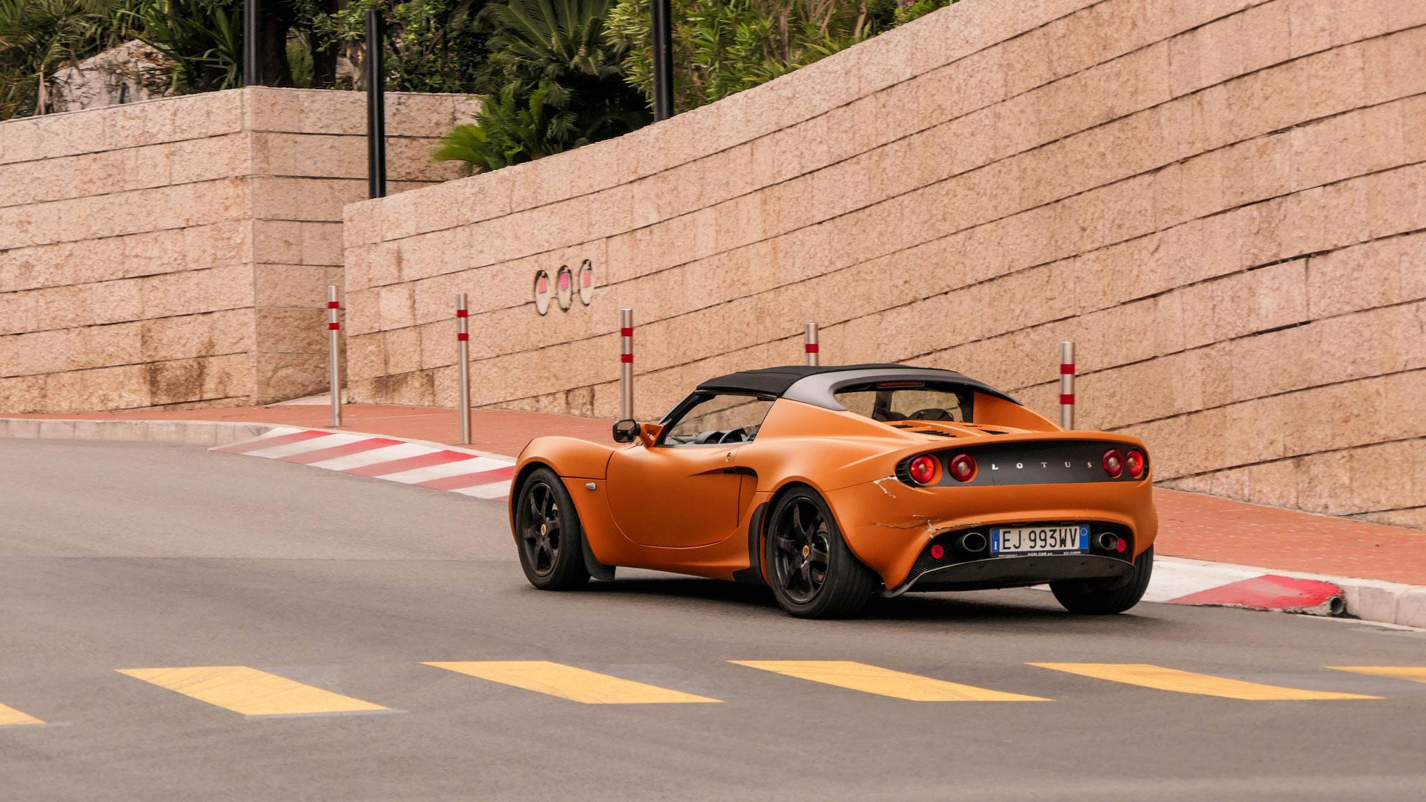 Lotus Elise S2 - EJ-993-WV (ITA)