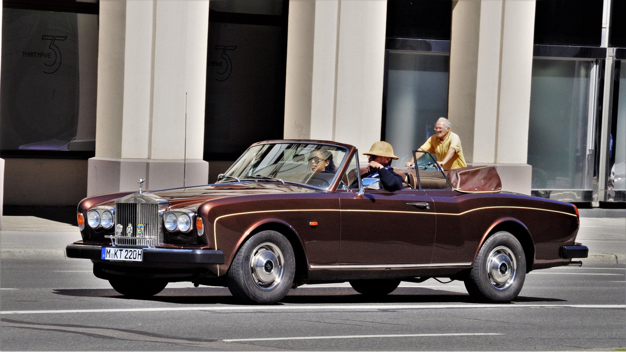 Rolls Royce Corniche - TM-KT-220H