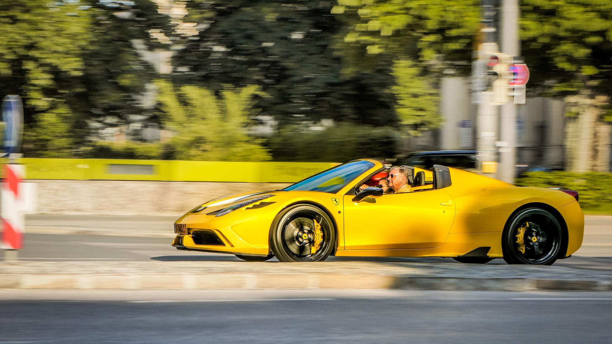 Ferrari 458 Speciale Aperta - SF-4400 (LUX)