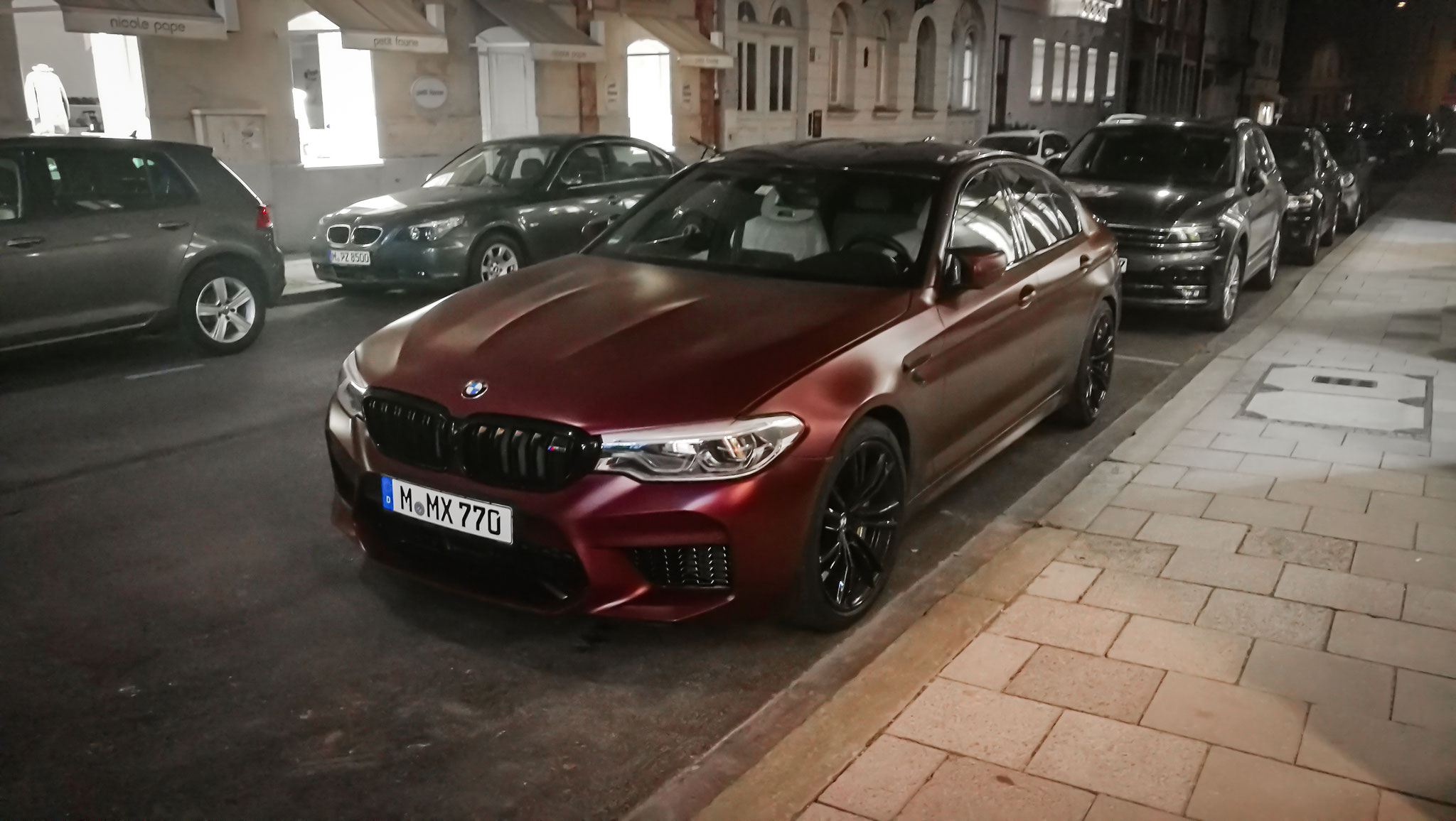 BMW M5 First Edition (1 of 400) - M-MX-770