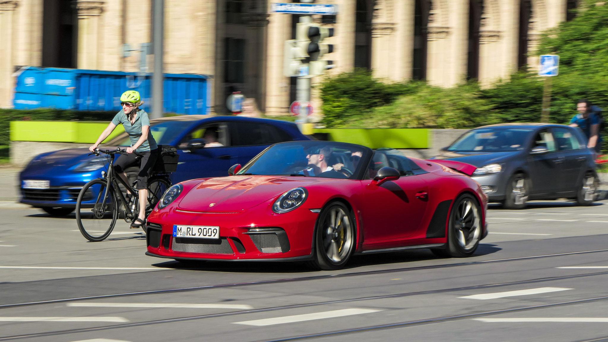 Porsche 991 Speedster - M-RL-9009