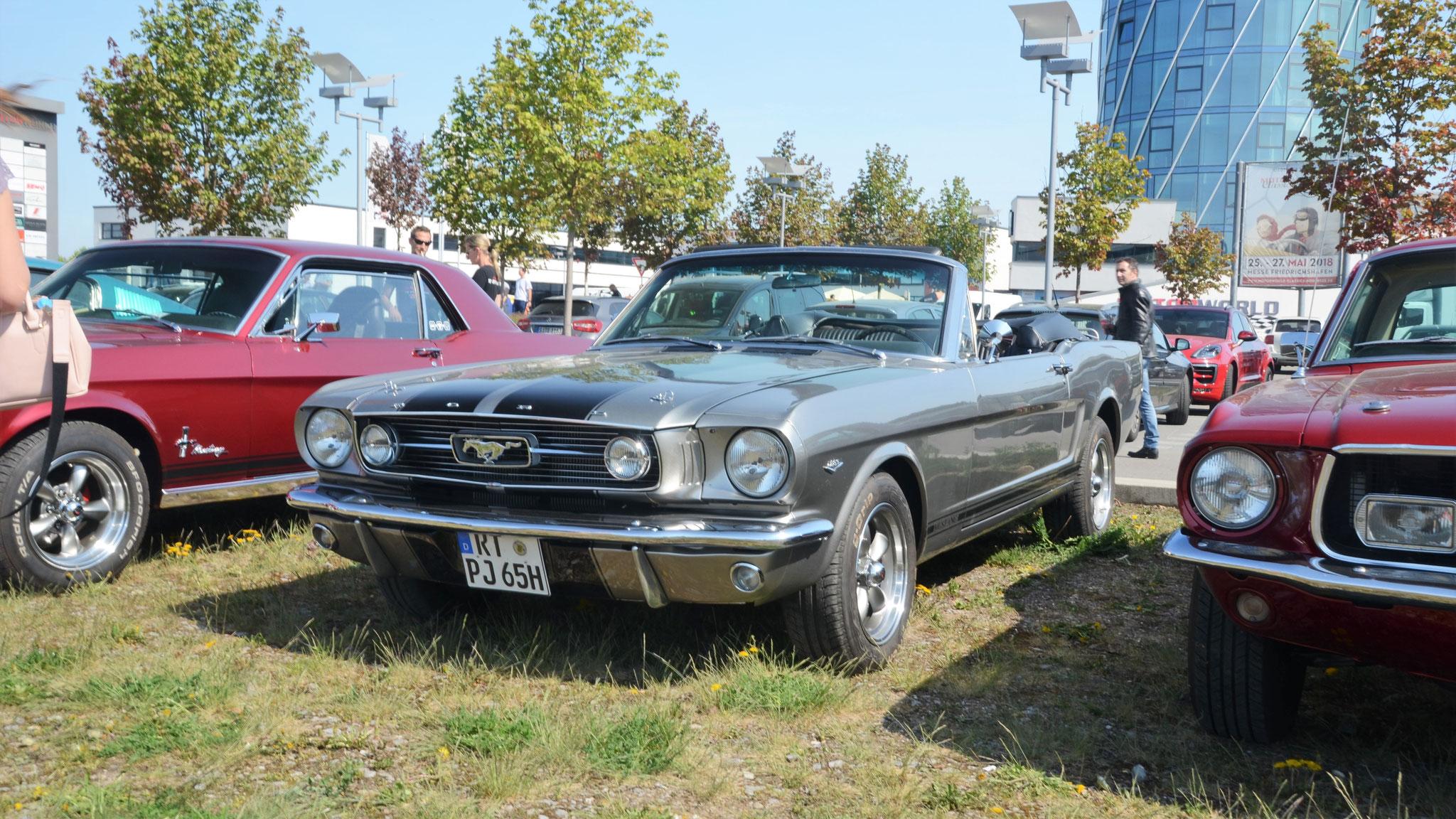 Mustang I Cabriolet - RT-PJ-65H