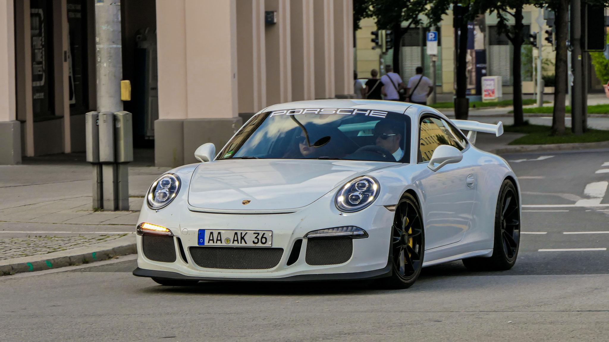 Porsche 991 GT3 - AA-AK-36