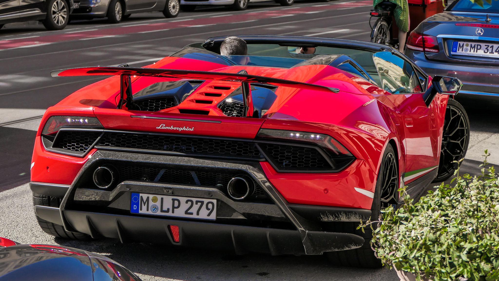Lamborghini Huracan Performante Spyder - M-LP-279