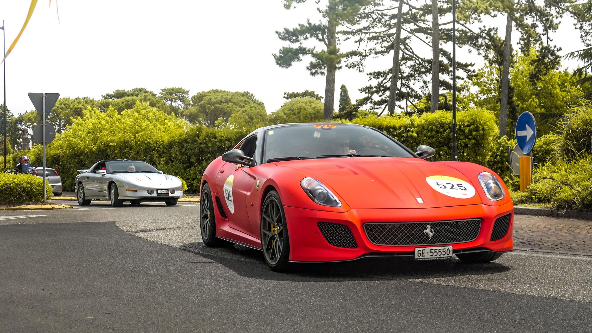 Ferrari 599 GTO - GE-55550 (CH)