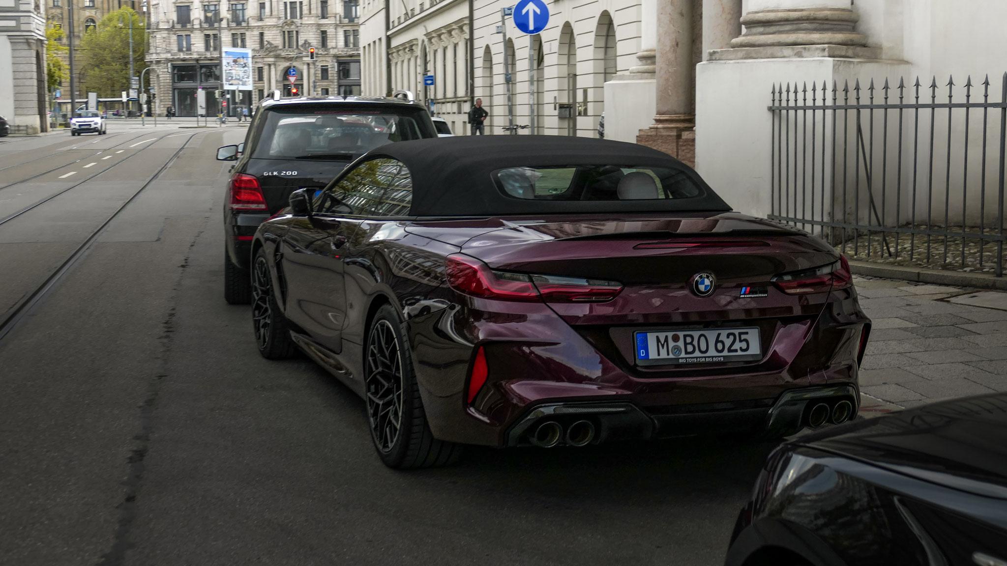 BMW M8 Competition Cabrio - M-BO-625