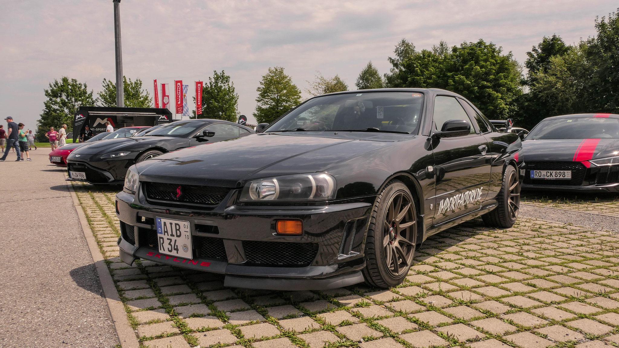 Nissan R34 GT-R - AIB-R-34