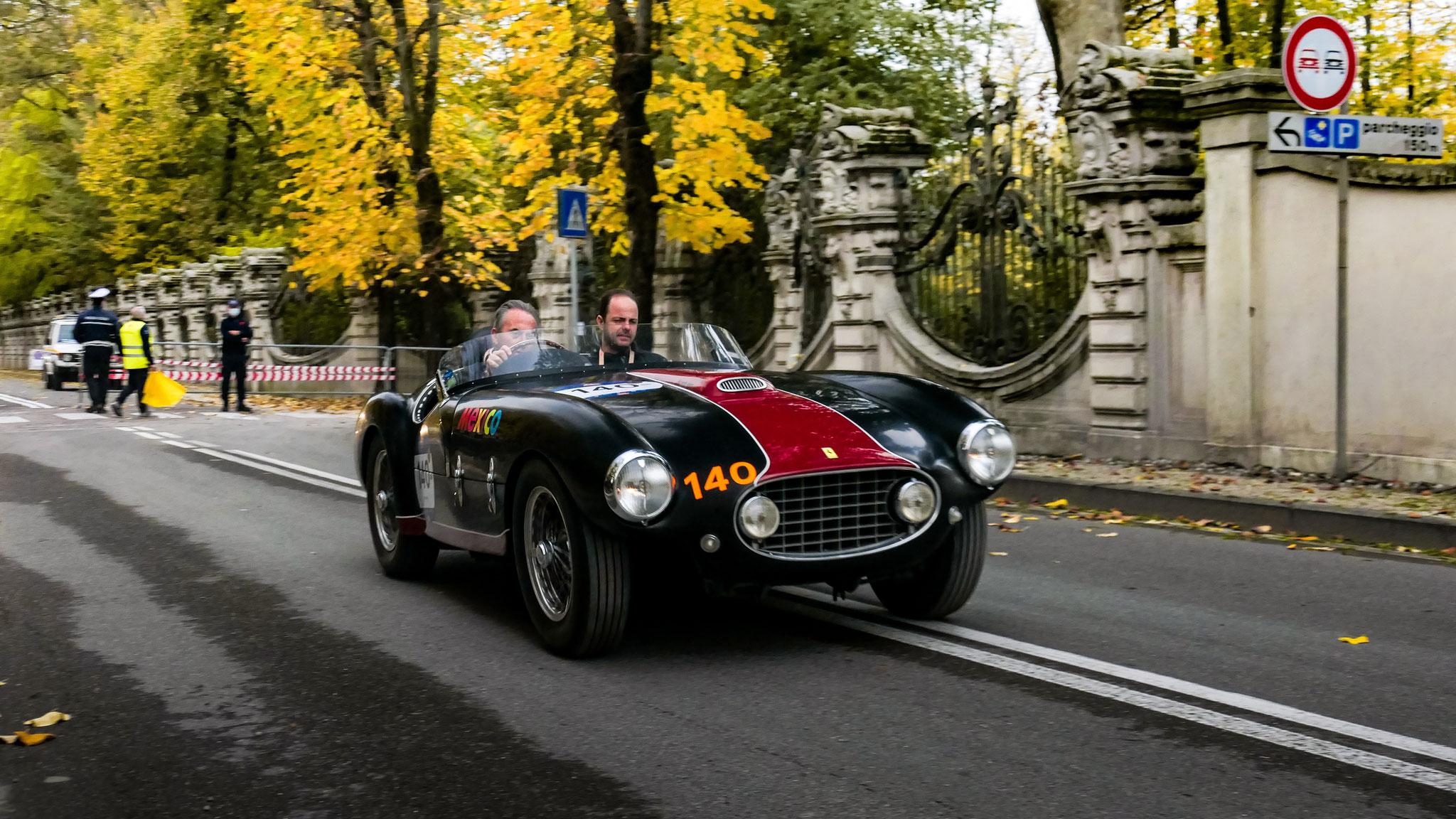 Ferrari 166 Inter Spider Corsa - 892-XVK (GB)